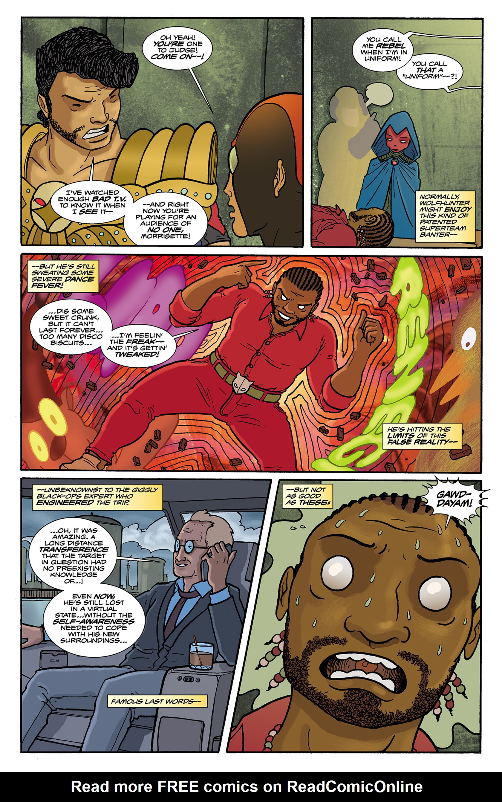 Read online Catalyst Comix comic -  Issue #6 - 23