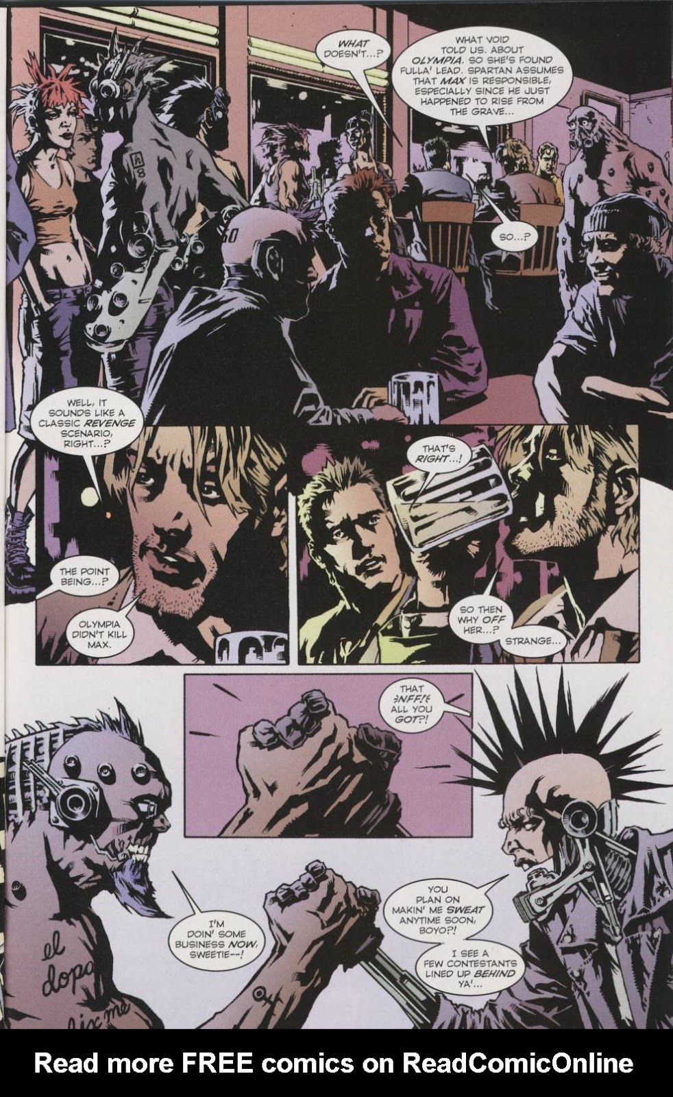 Wildcats (1999) _Annual 2000 #1 - English 22