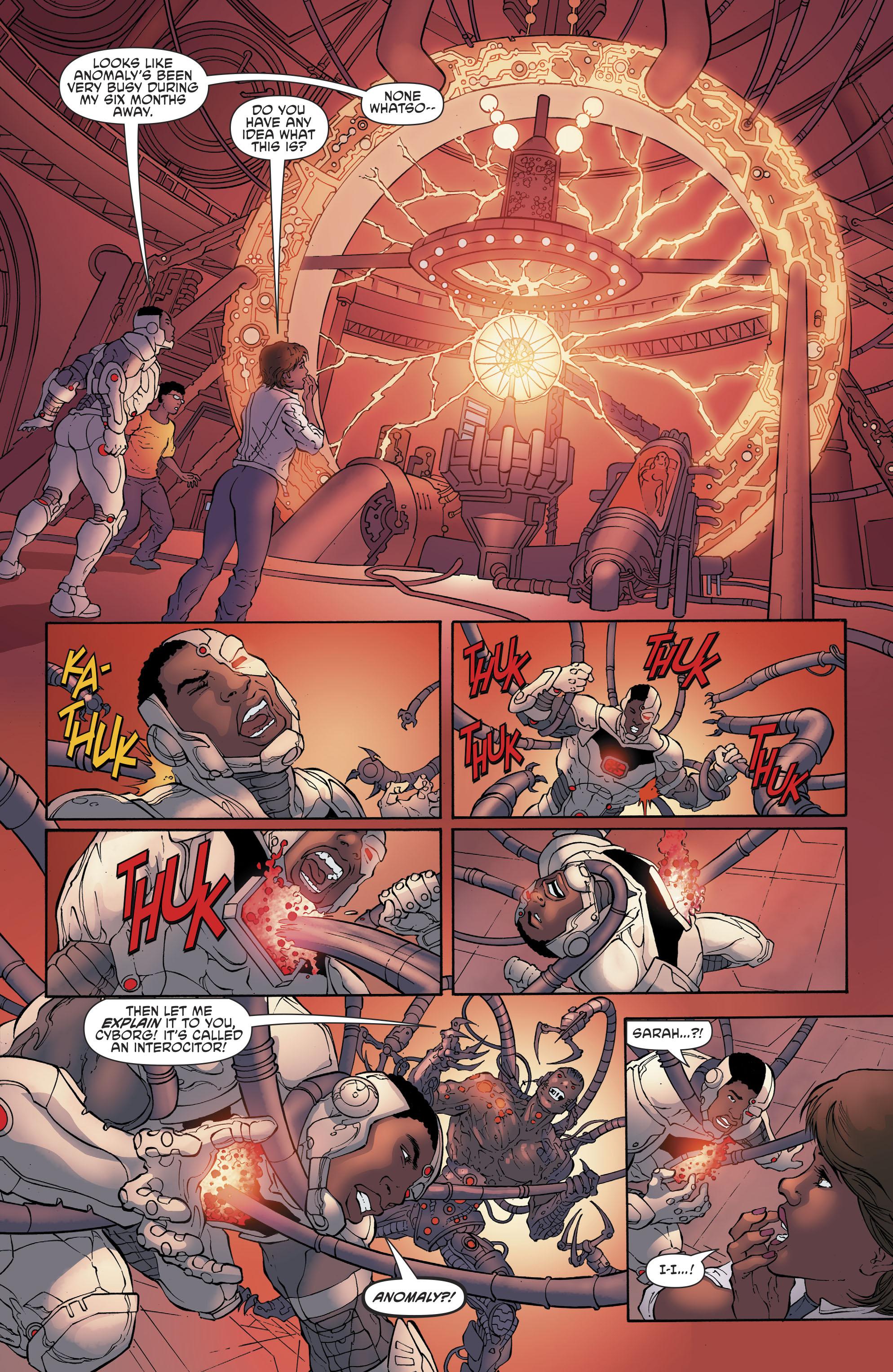 Read online Cyborg (2016) comic -  Issue #13 - 21