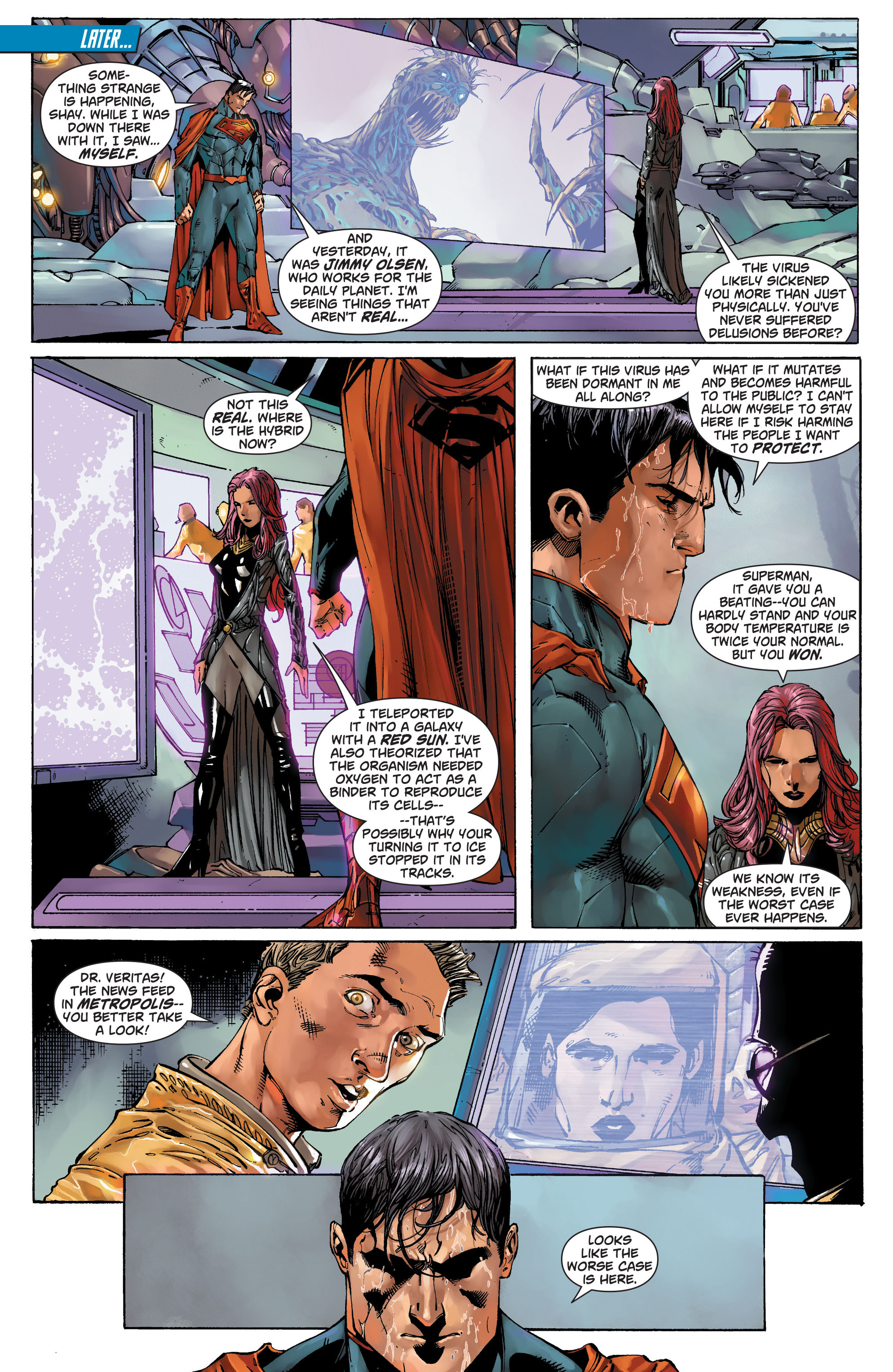 Read online Action Comics (2011) comic -  Issue #20 - 15