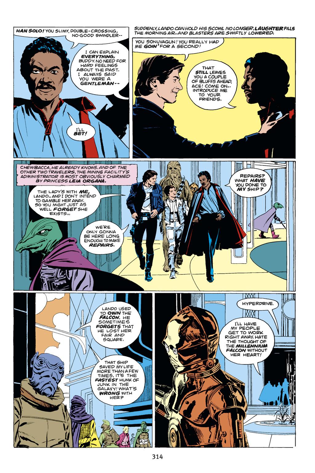 Read online Star Wars Omnibus comic -  Issue # Vol. 14 - 312