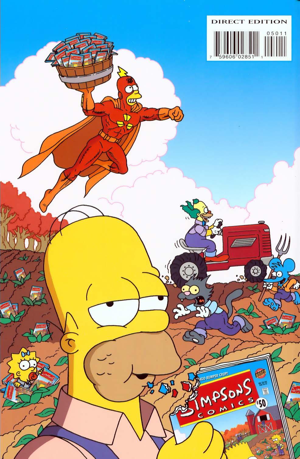 Read online Simpsons Comics comic -  Issue #50 - 83