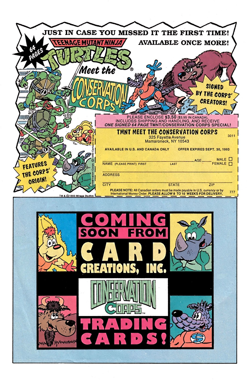 Read online Conservation Corps comic -  Issue #3 - 31