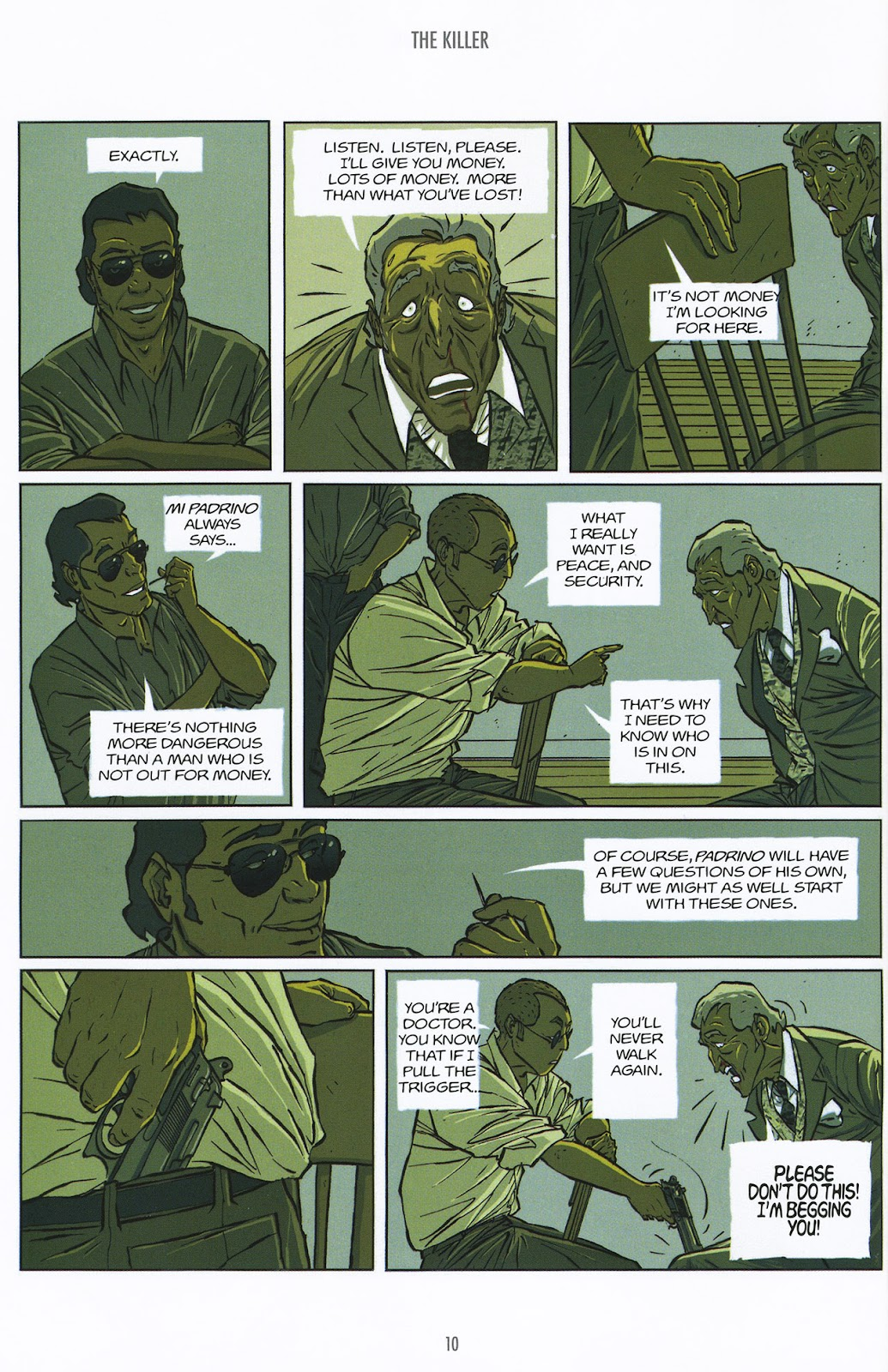 Read online The Killer comic -  Issue #9 - 10