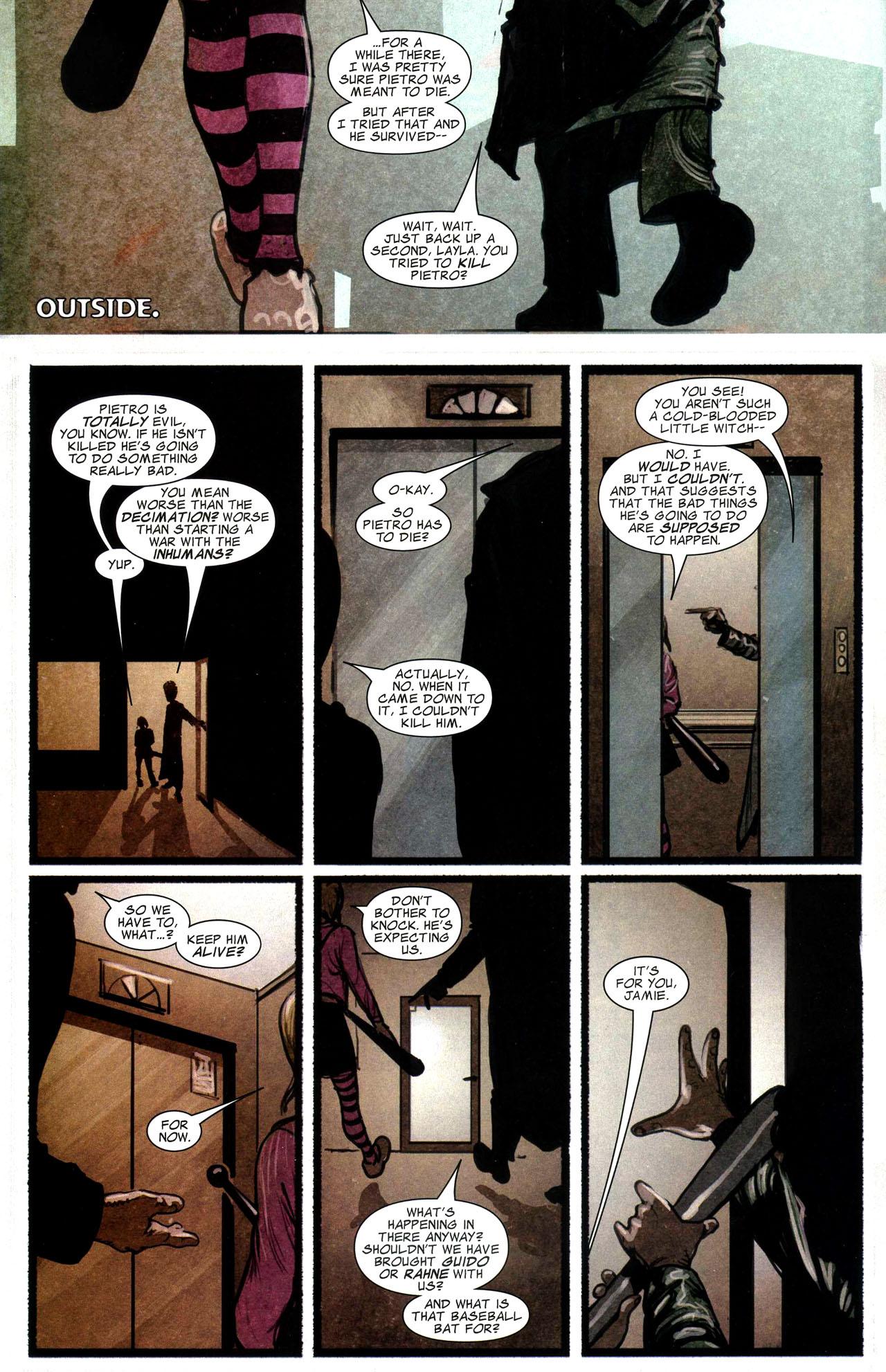 Read online Silent War comic -  Issue #3 - 9