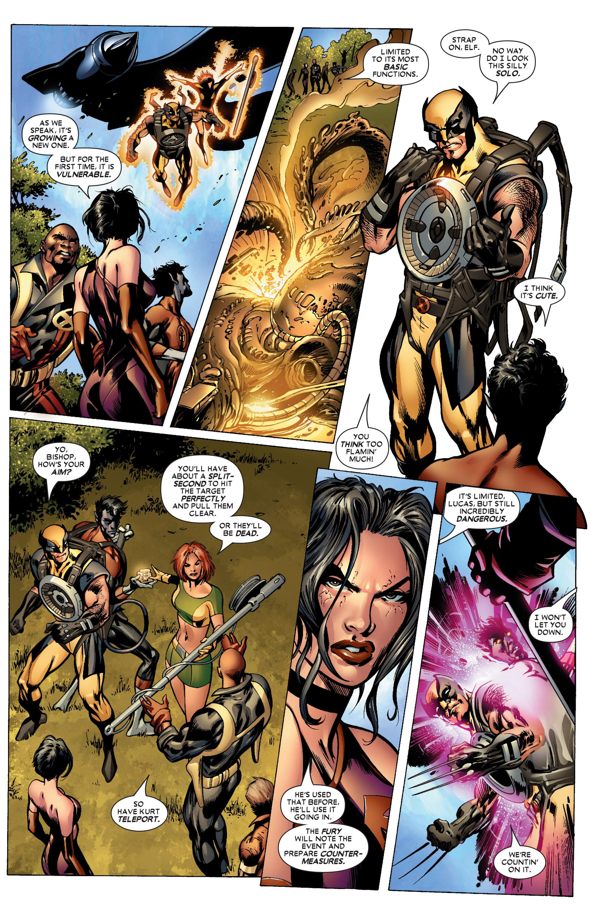 Read online Uncanny X-Men (1963) comic -  Issue #447 - 16