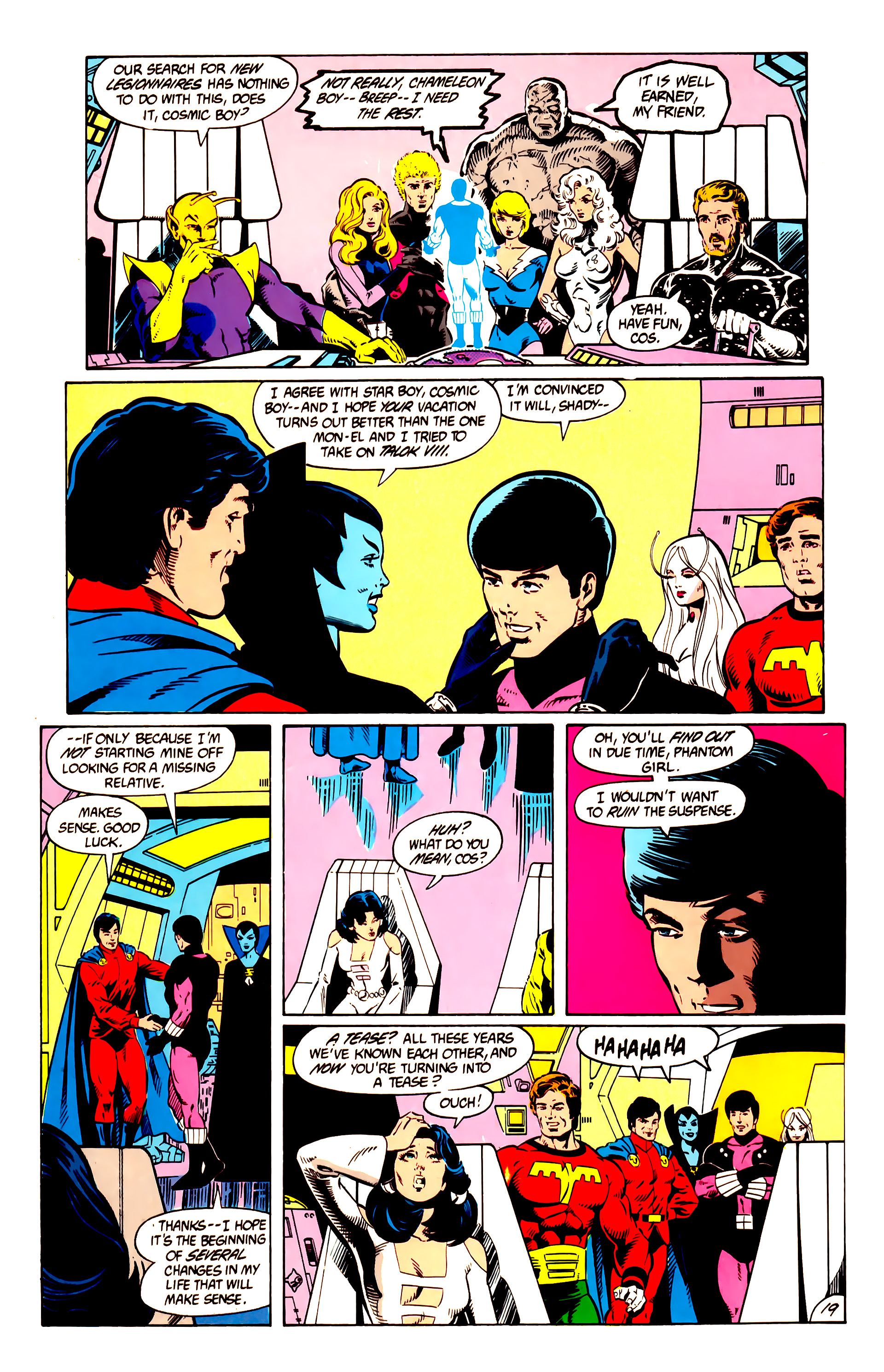 Legion of Super-Heroes (1984) 10 Page 20
