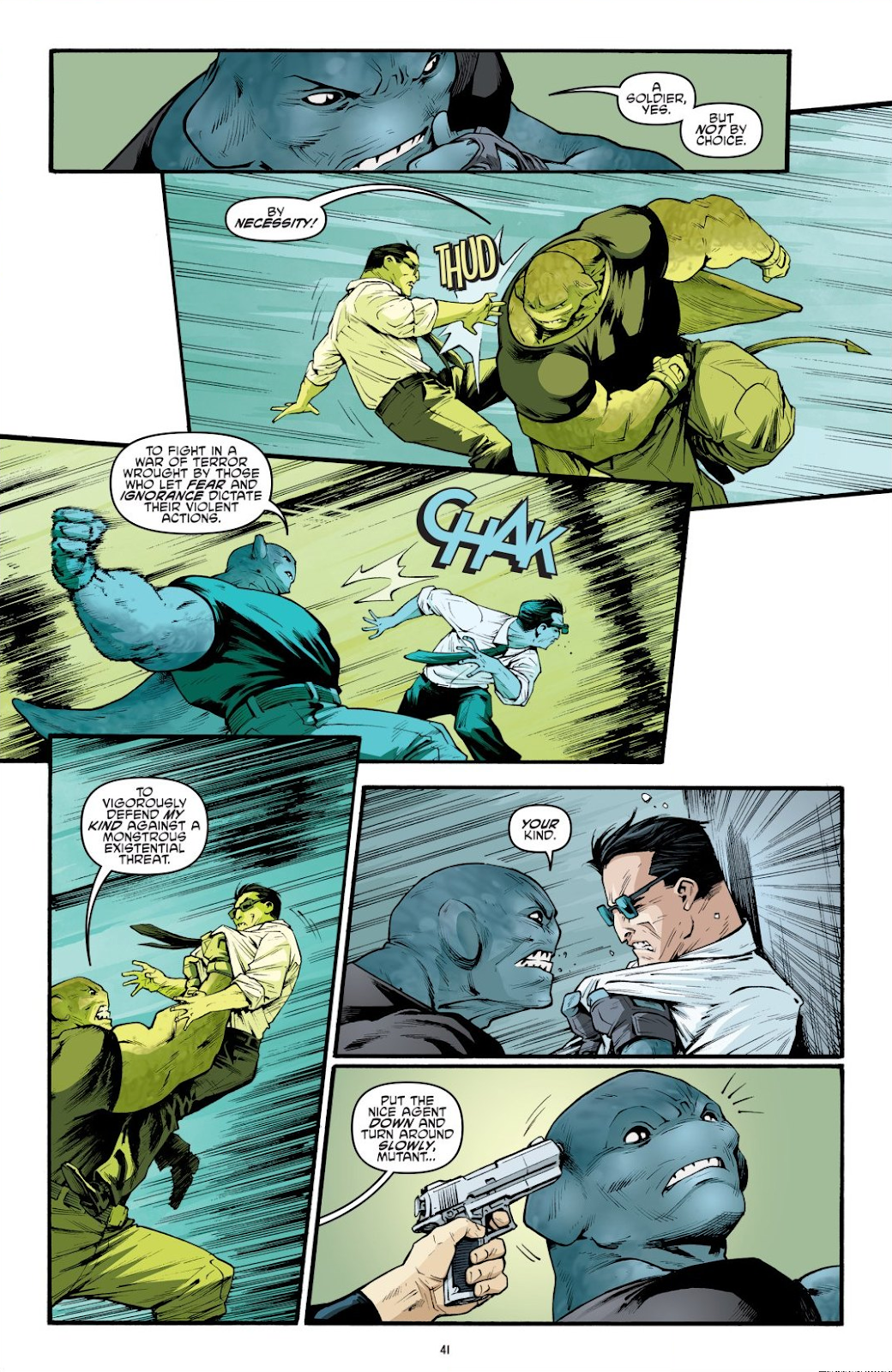 Read online Teenage Mutant Ninja Turtles: The IDW Collection comic -  Issue # TPB 9 (Part 1) - 42