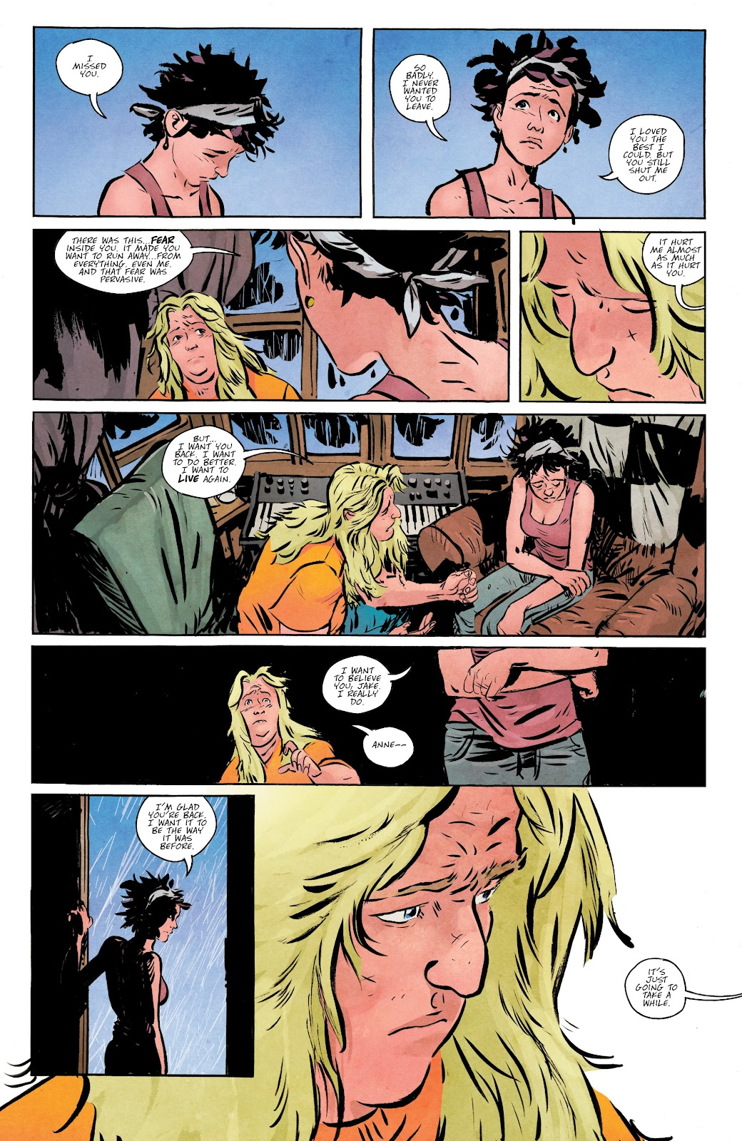 Read online Murder Falcon comic -  Issue #5 - 9