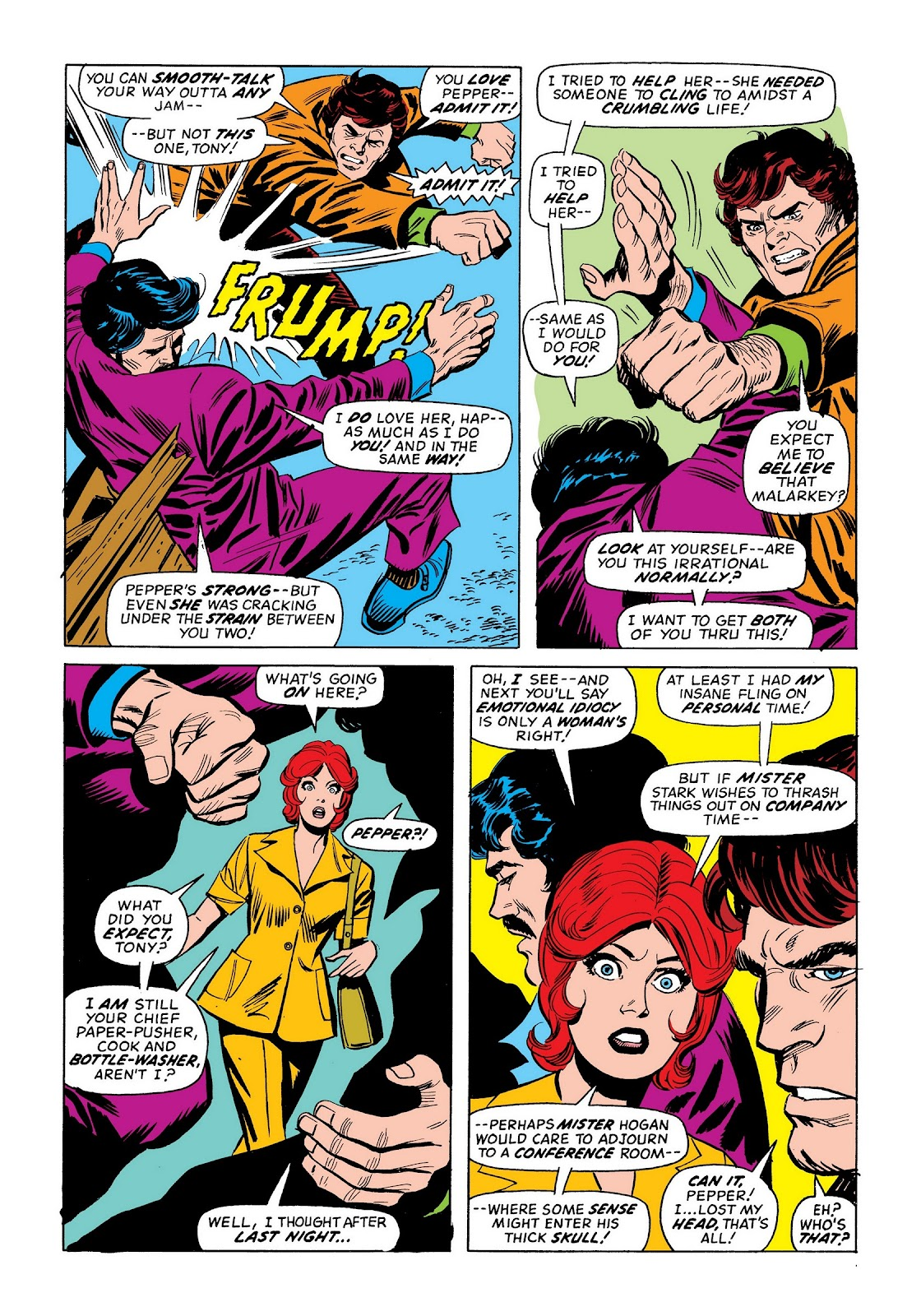 Read online Marvel Masterworks: The Invincible Iron Man comic -  Issue # TPB 9 (Part 3) - 23