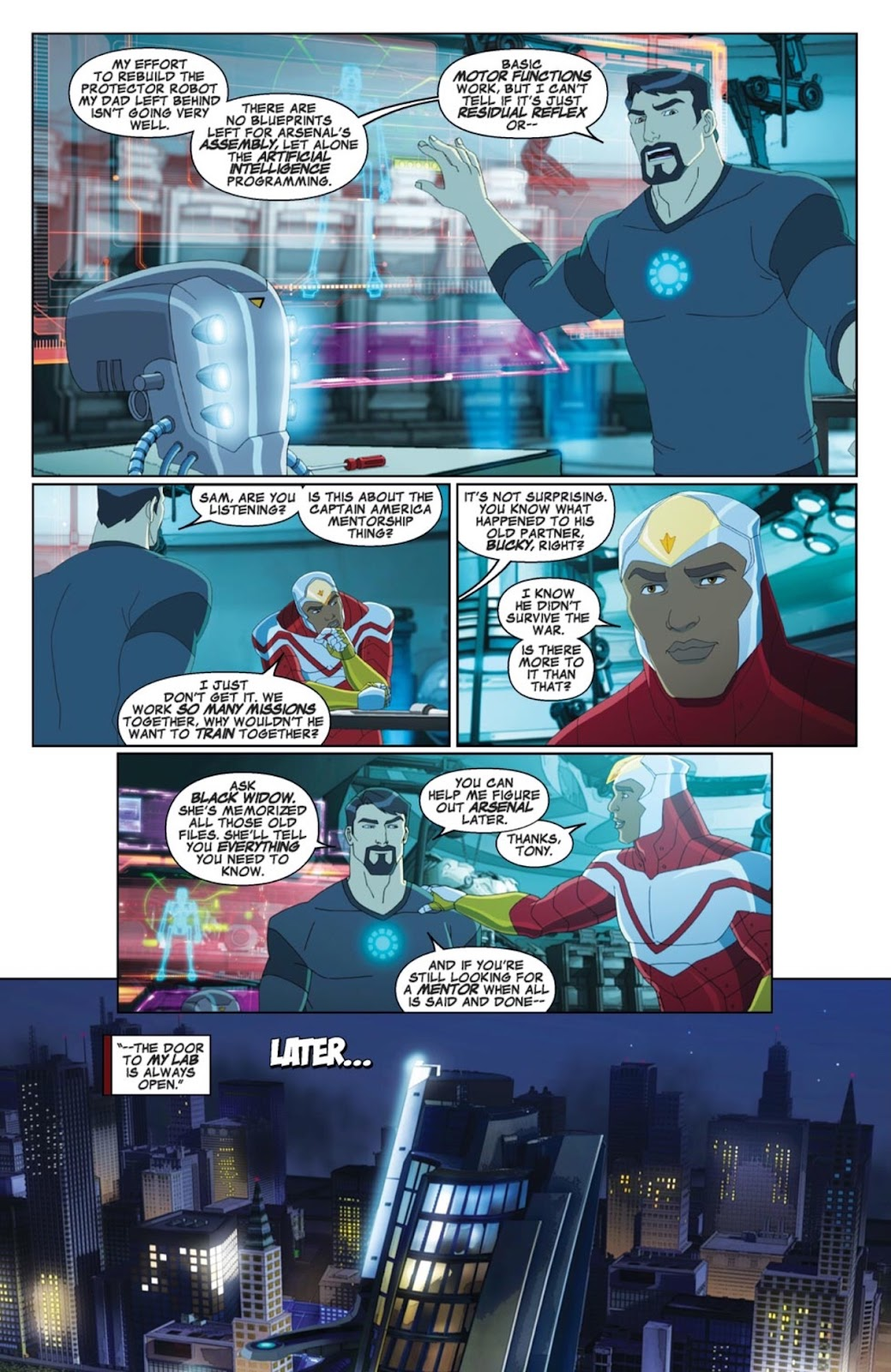 Read online Marvel Universe Avengers Assemble Season 2 comic -  Issue #4 - 4