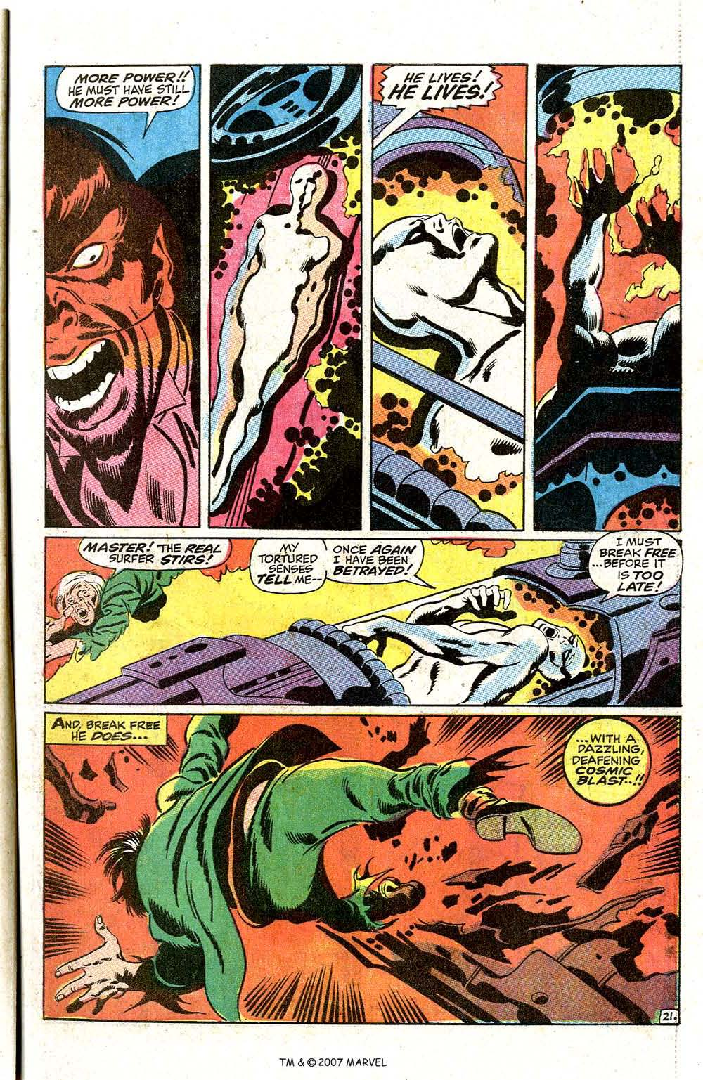 Read online Silver Surfer (1968) comic -  Issue #7 - 27