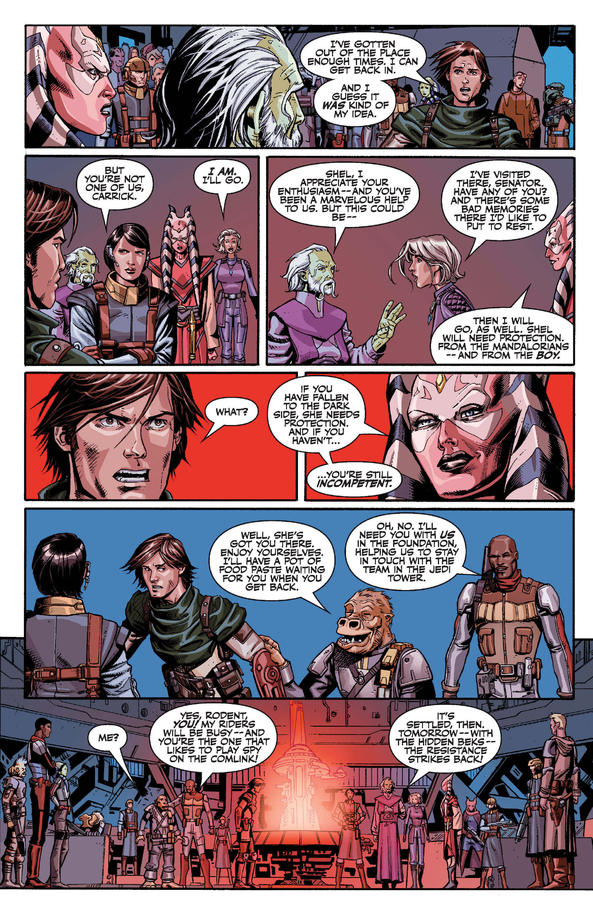 Read online Star Wars Omnibus comic -  Issue # Vol. 32 - 119