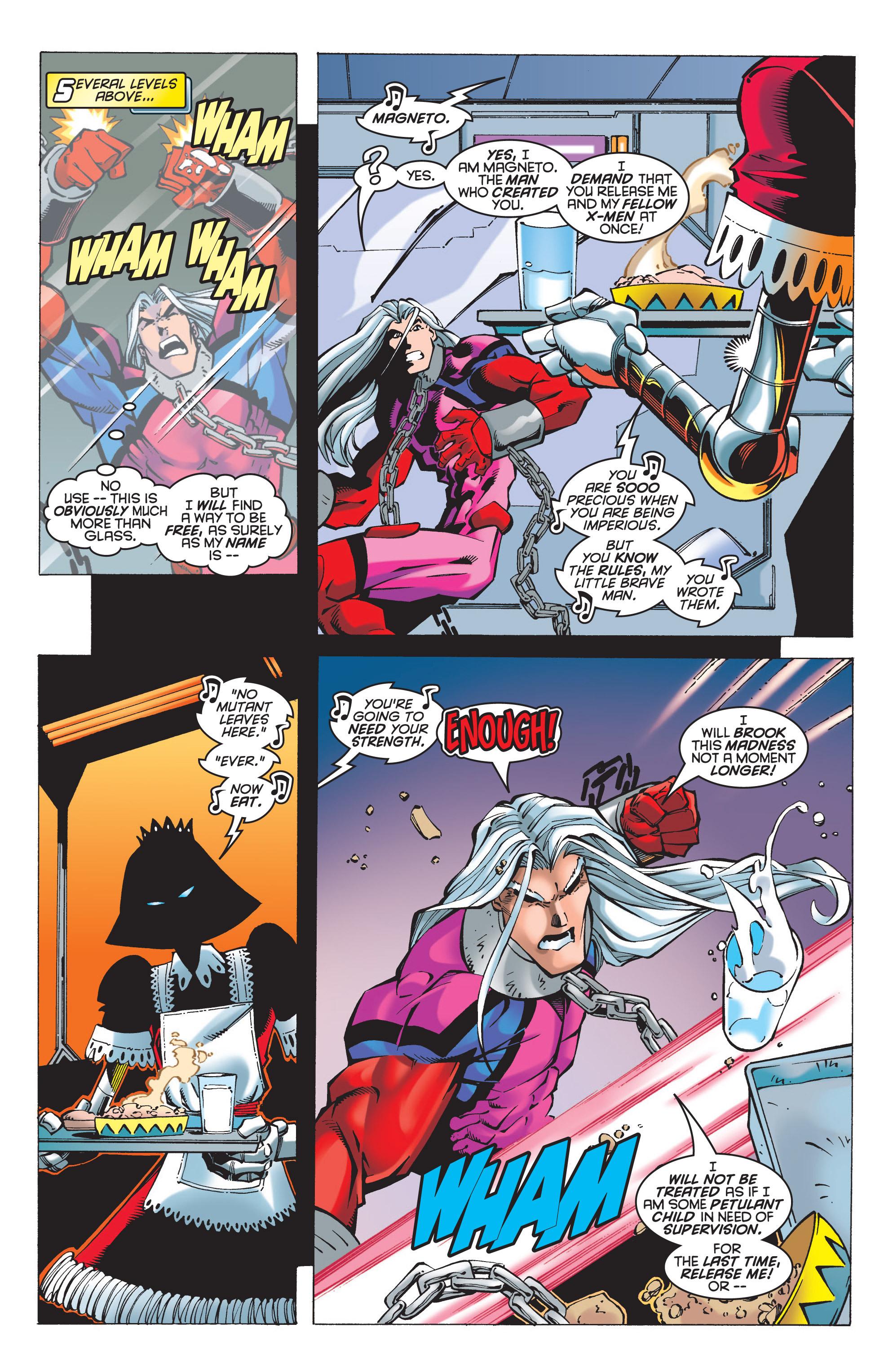 Read online Uncanny X-Men (1963) comic -  Issue #348 - 10