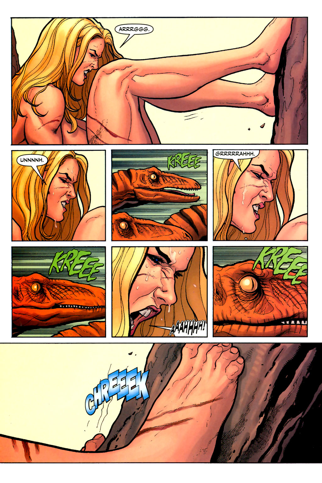 Read online Shanna, the She-Devil (2005) comic -  Issue #7 - 13