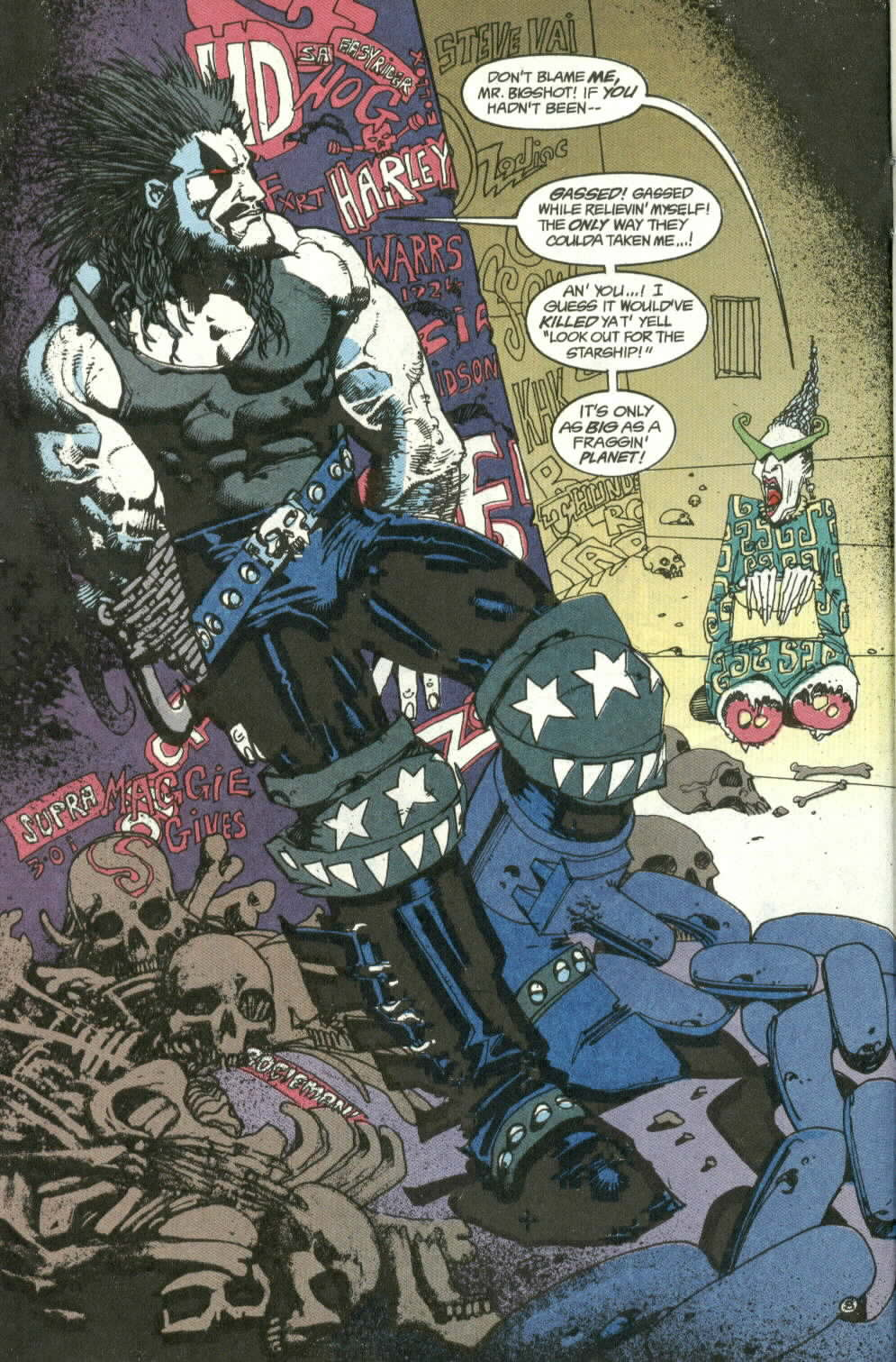 Read online Lobo (1990) comic -  Issue #3 - 9