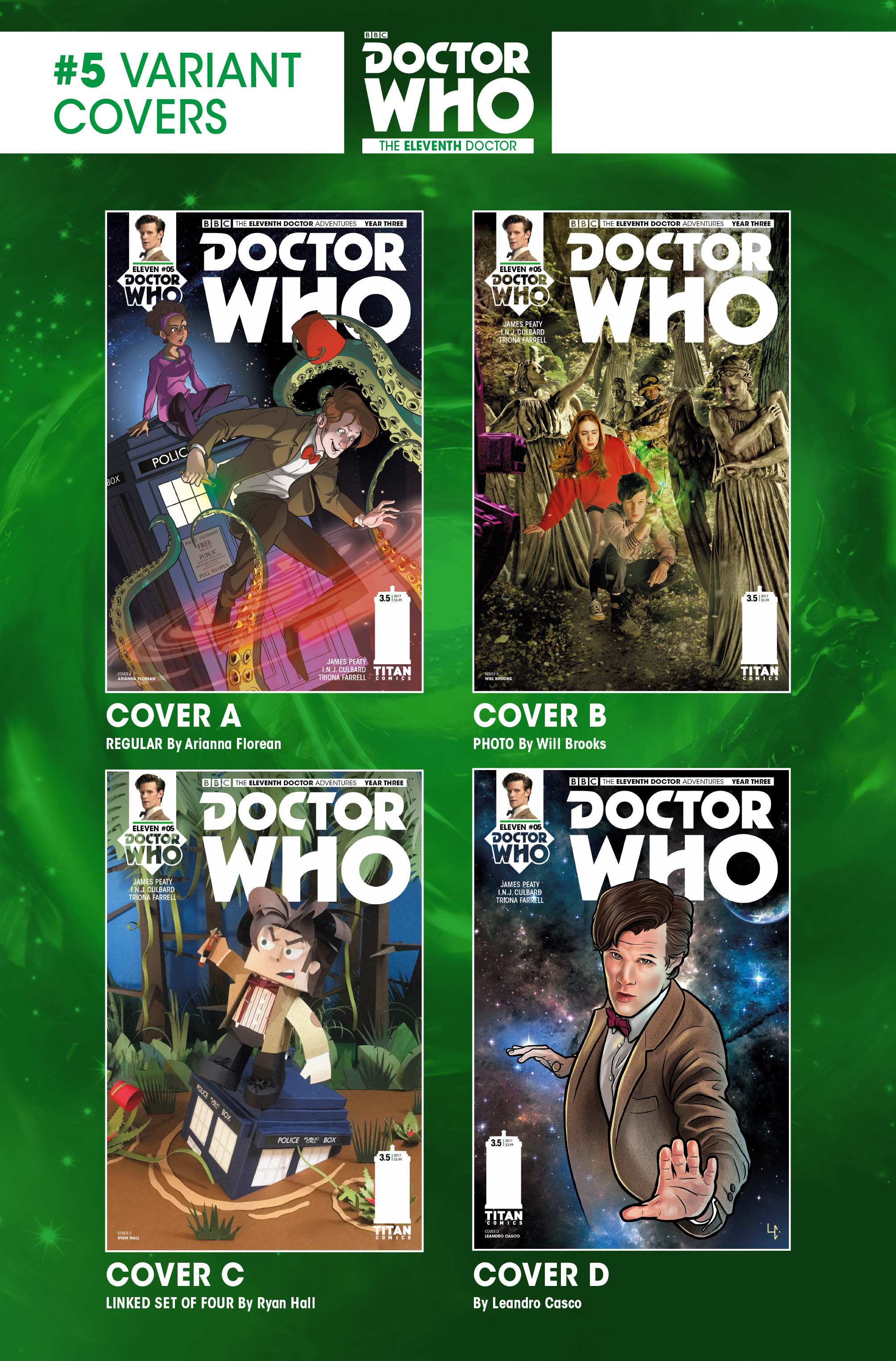 Read online Doctor Who: The Eleventh Doctor Year Three comic -  Issue #5 - 30