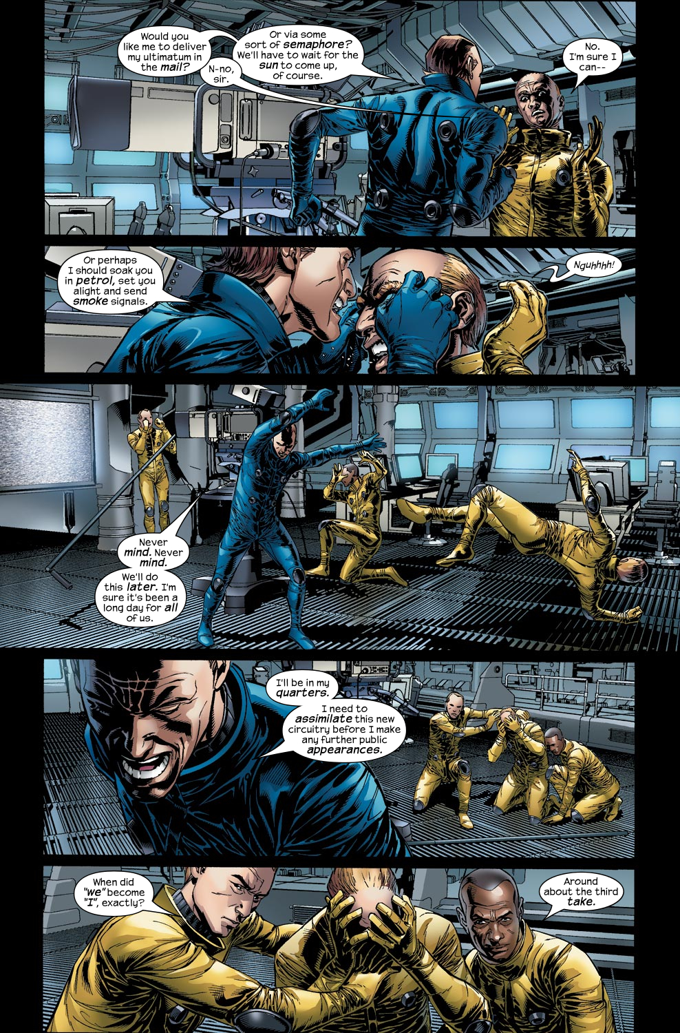 Read online Ultimate Vision comic -  Issue #2 - 10