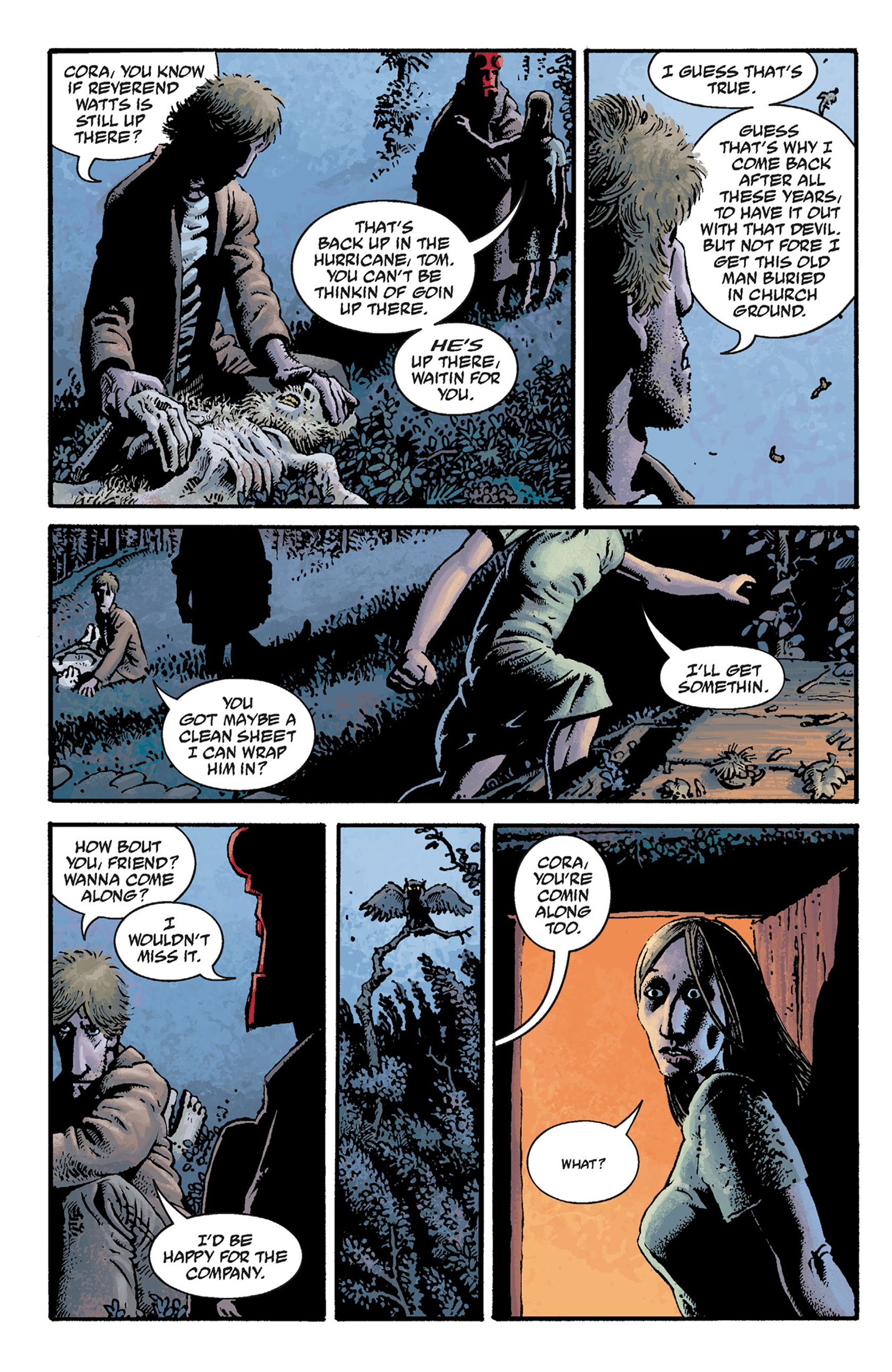 Read online Hellboy: The Crooked Man and Others comic -  Issue # TPB - 32