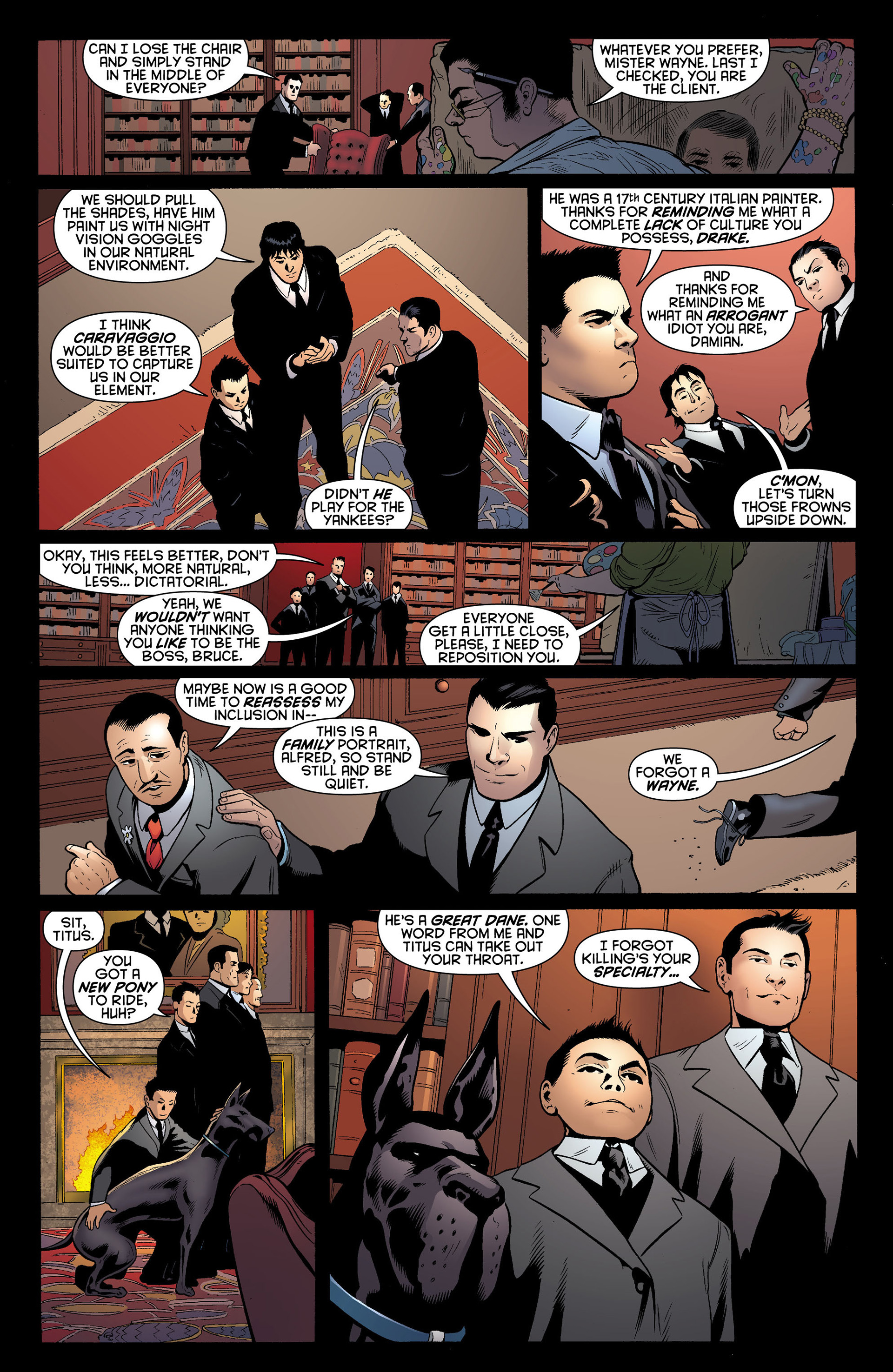 Read online Batman and Robin (2011) comic -  Issue #10 - 6