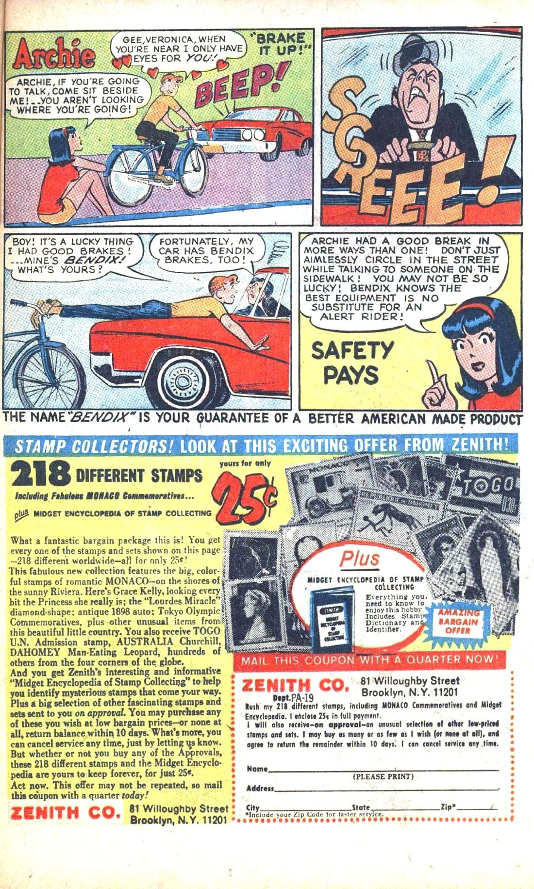 Read online Archie (1960) comic -  Issue #186 - 25