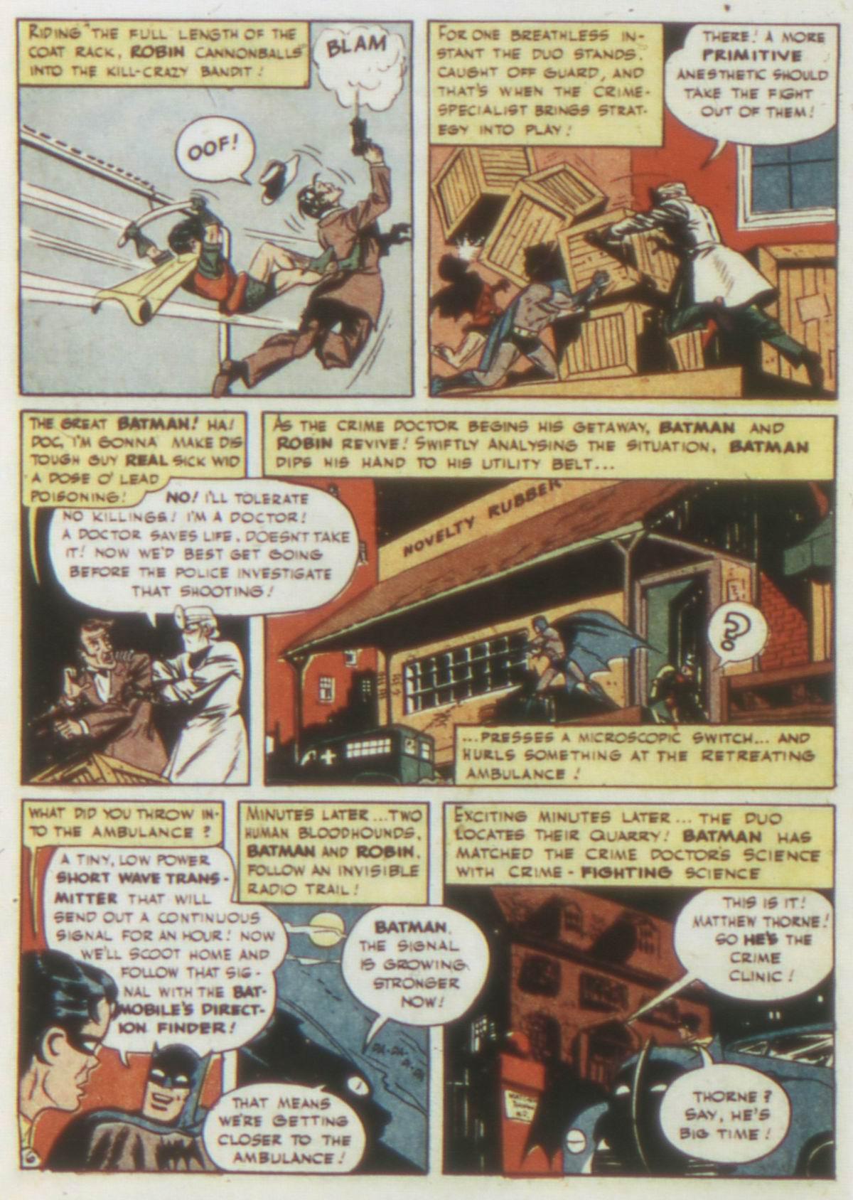 Read online Detective Comics (1937) comic -  Issue #77 - 8