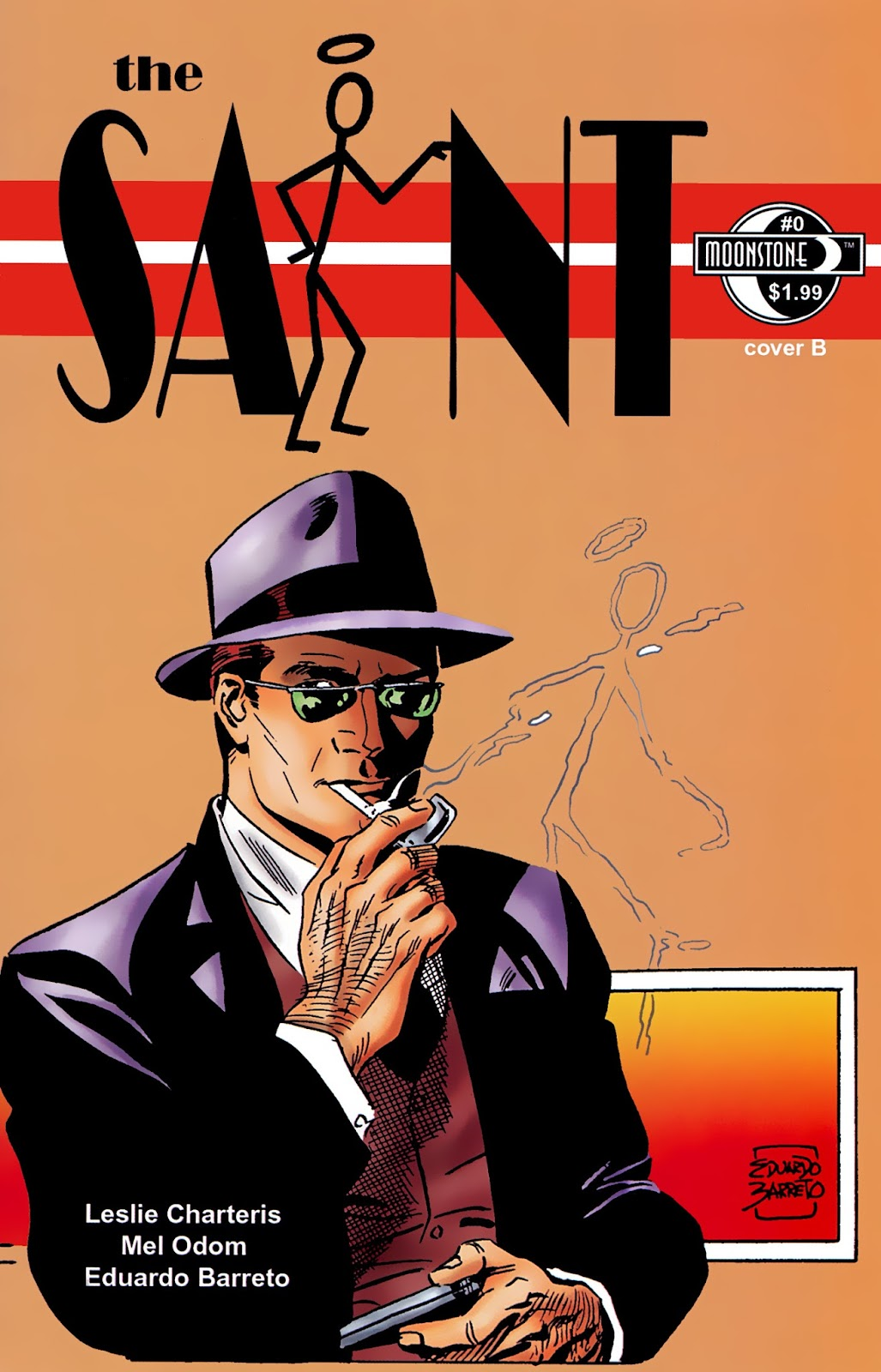 The Saint (2012) issue Full - Page 1