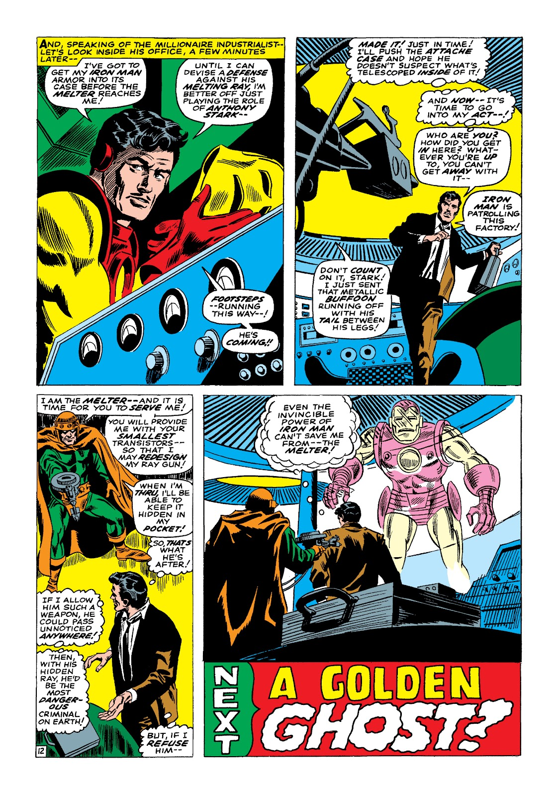 Read online Marvel Masterworks: The Invincible Iron Man comic -  Issue # TPB 4 (Part 1) - 83