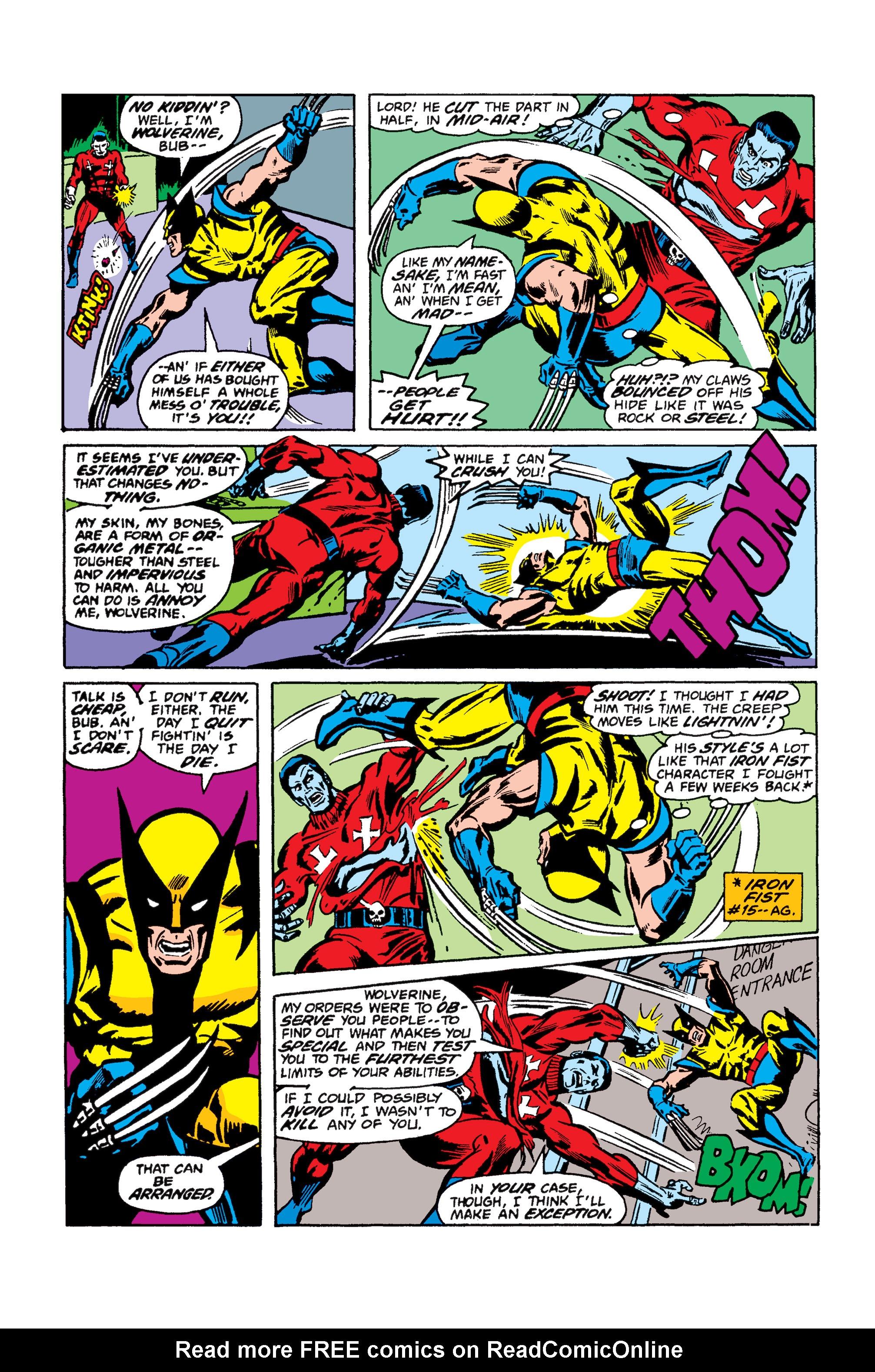 Read online Uncanny X-Men (1963) comic -  Issue #110 - 15