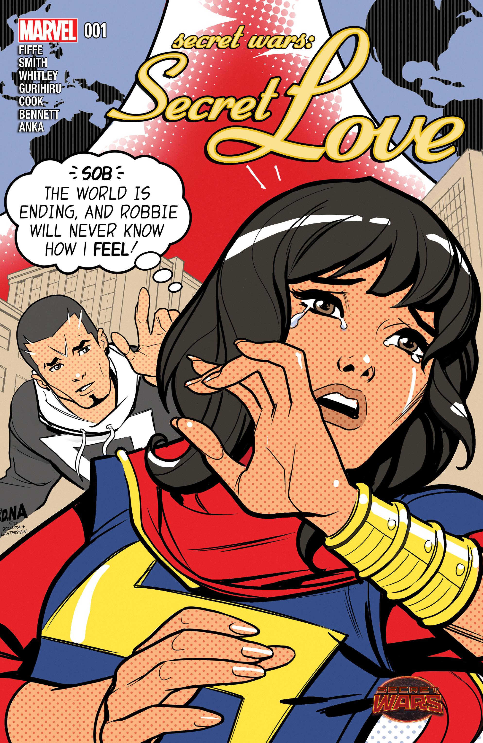 Read online Secret Wars: Secret Love comic -  Issue # Full - 1