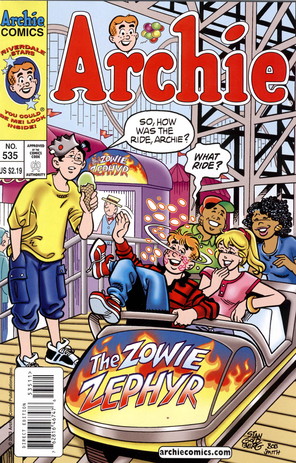 Read online Archie (1960) comic -  Issue #535 - 1