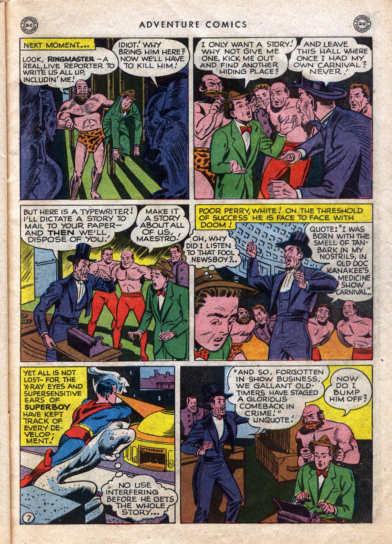 Read online Adventure Comics (1938) comic -  Issue #120 - 9