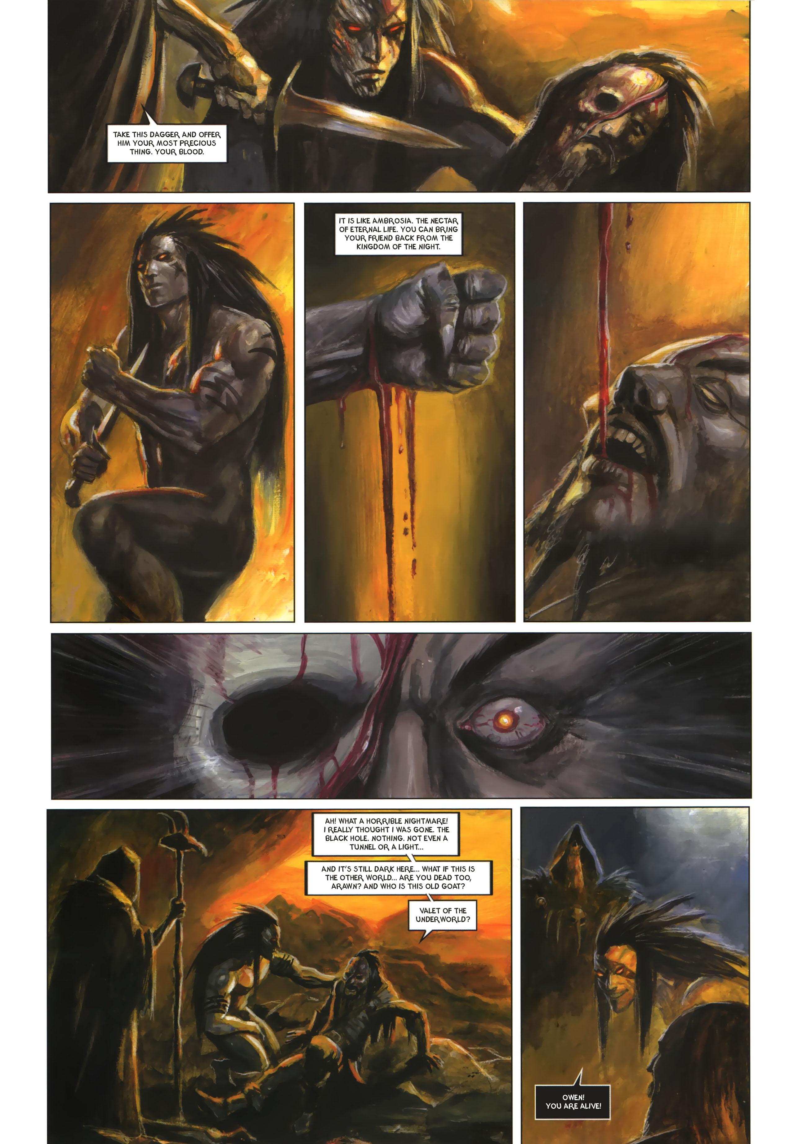 Read online Arawn comic -  Issue #6 - 29