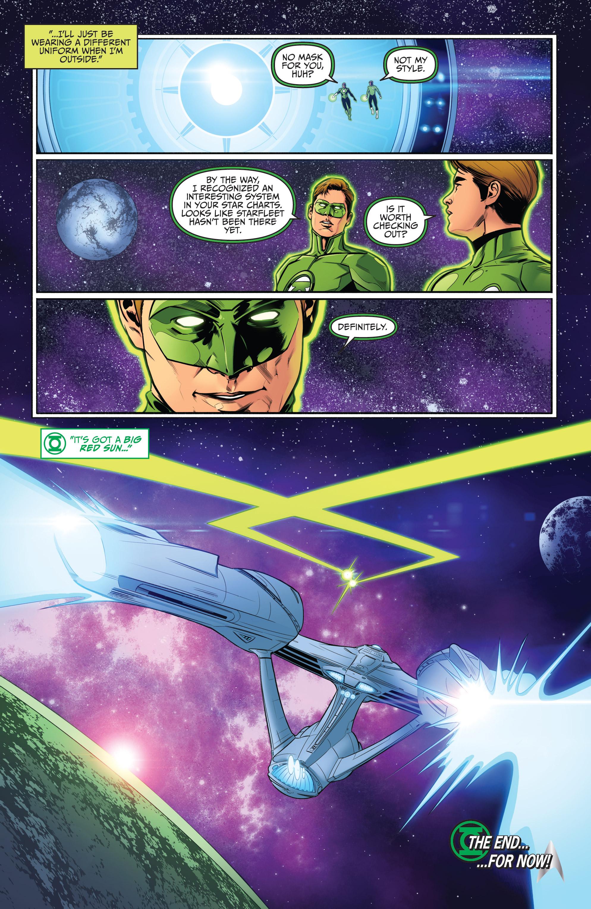 Read online Star Trek/Green Lantern (2016) comic -  Issue #6 - 20