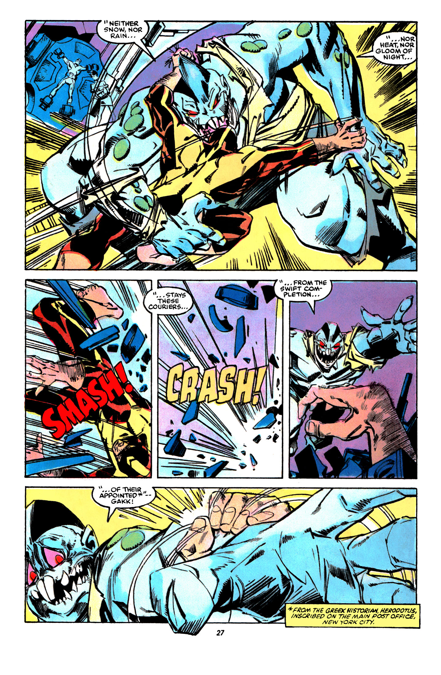 Read online X-Factor (1986) comic -  Issue #31 - 21