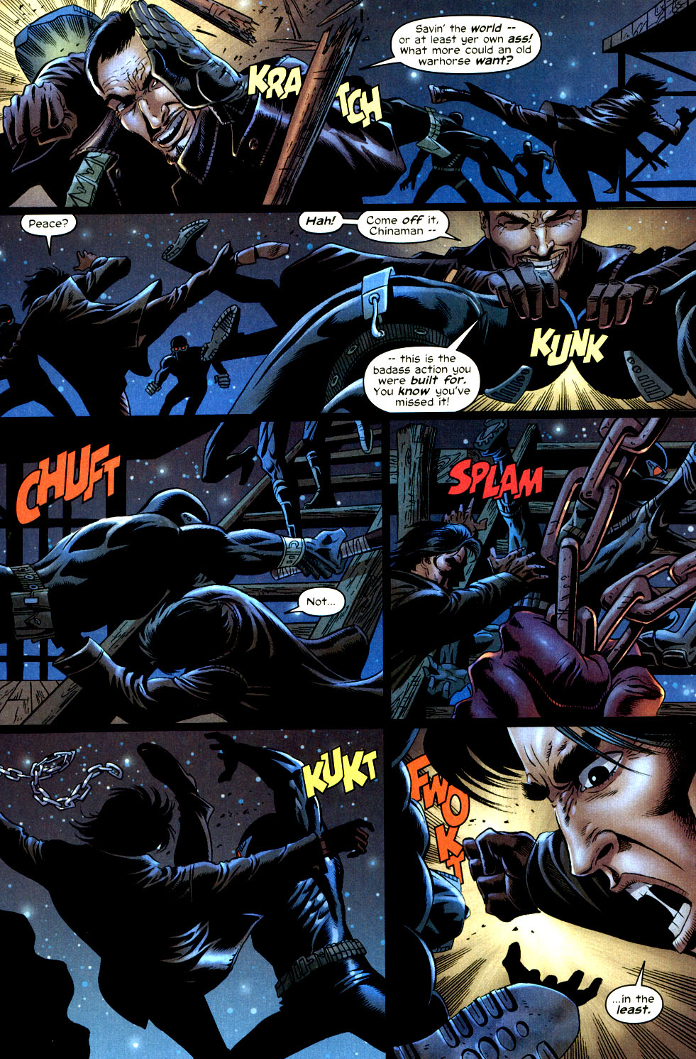 Read online Shang-Chi: Master of Kung Fu comic -  Issue #2 - 4