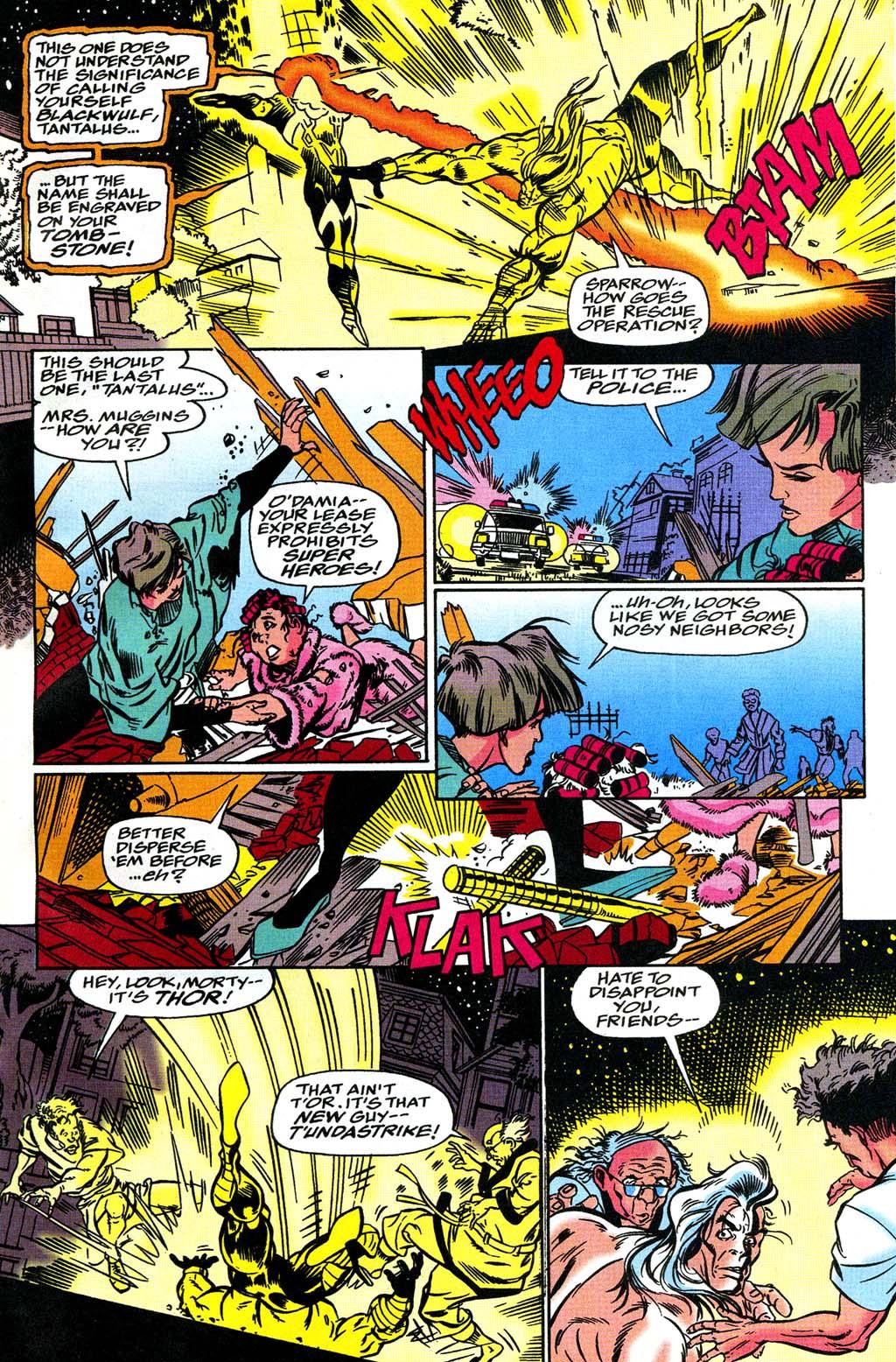 Read online Blackwulf comic -  Issue #8 - 11