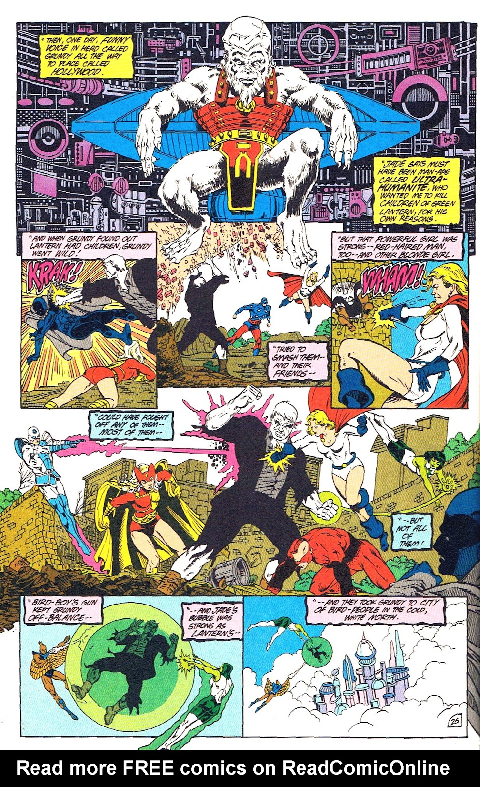 Infinity Inc. (1984) issue 39 - Page 28