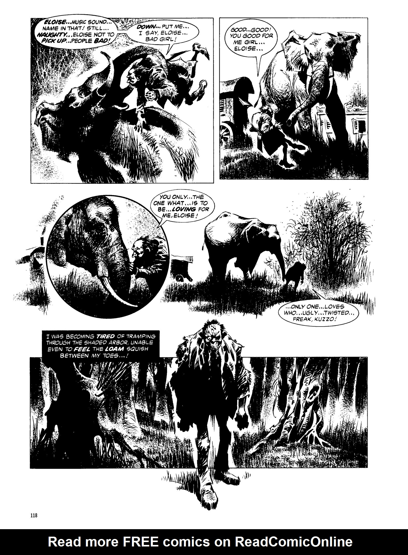 Read online Eerie Archives comic -  Issue # TPB 13 - 119