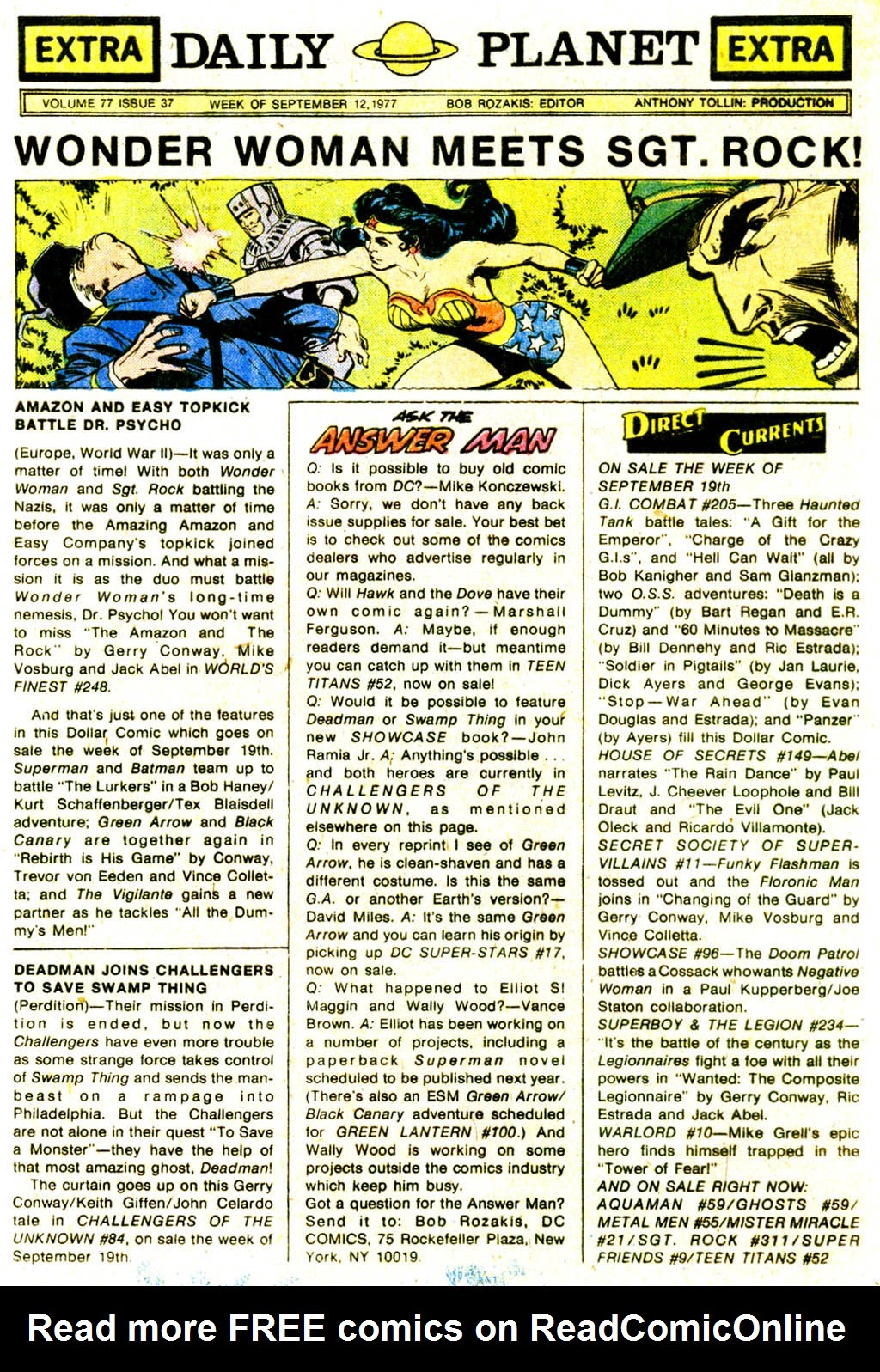 Read online Sgt. Rock comic -  Issue #311 - 32