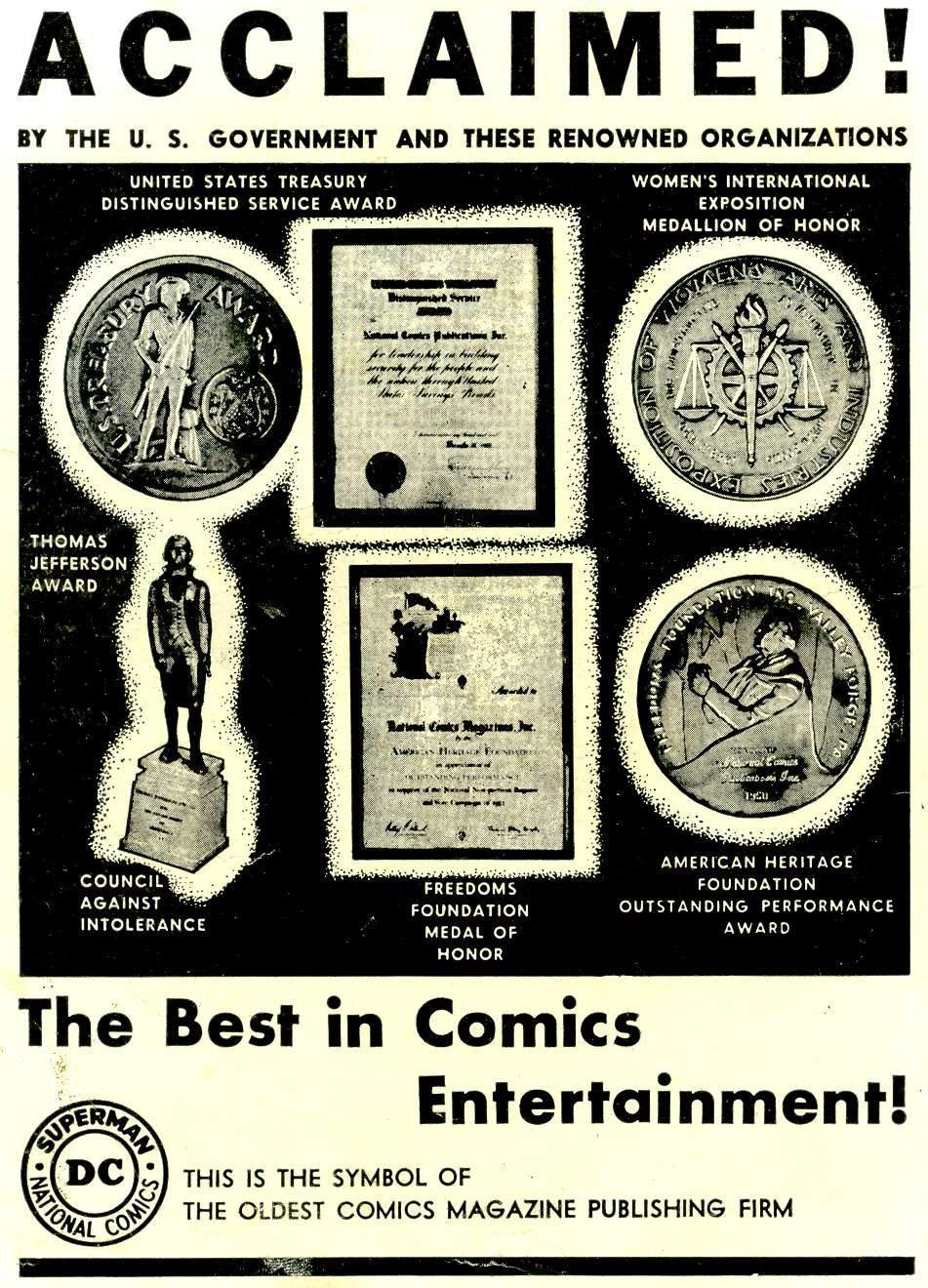 Read online Adventure Comics (1938) comic -  Issue #244 - 2