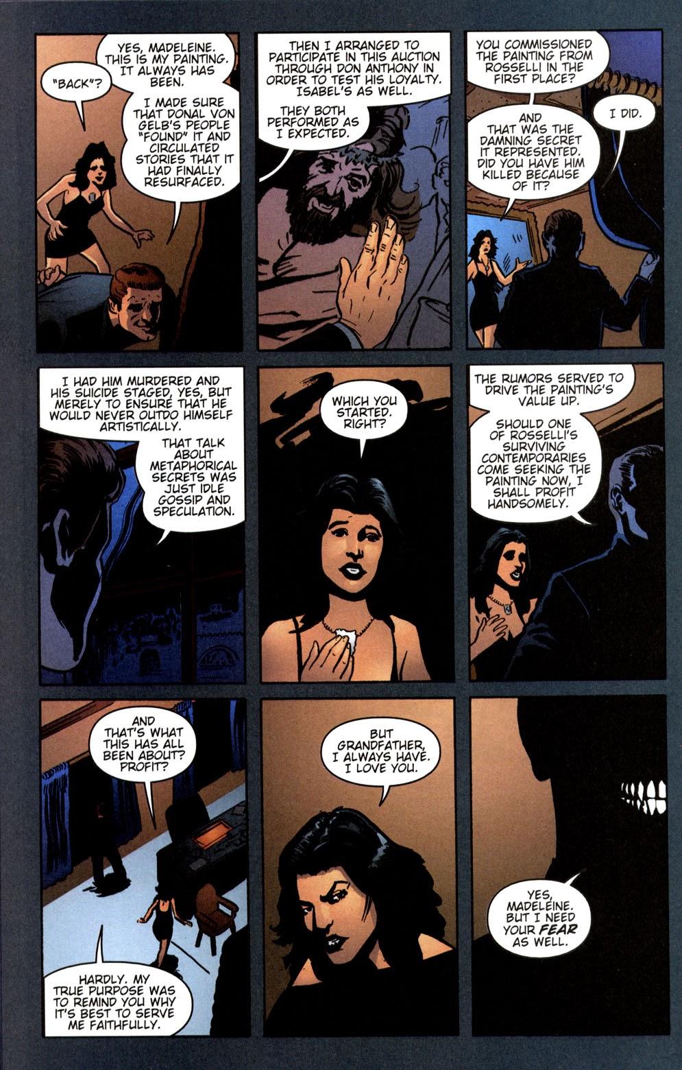 Read online Vampire the Masquerade comic -  Issue # Giovanni - 47
