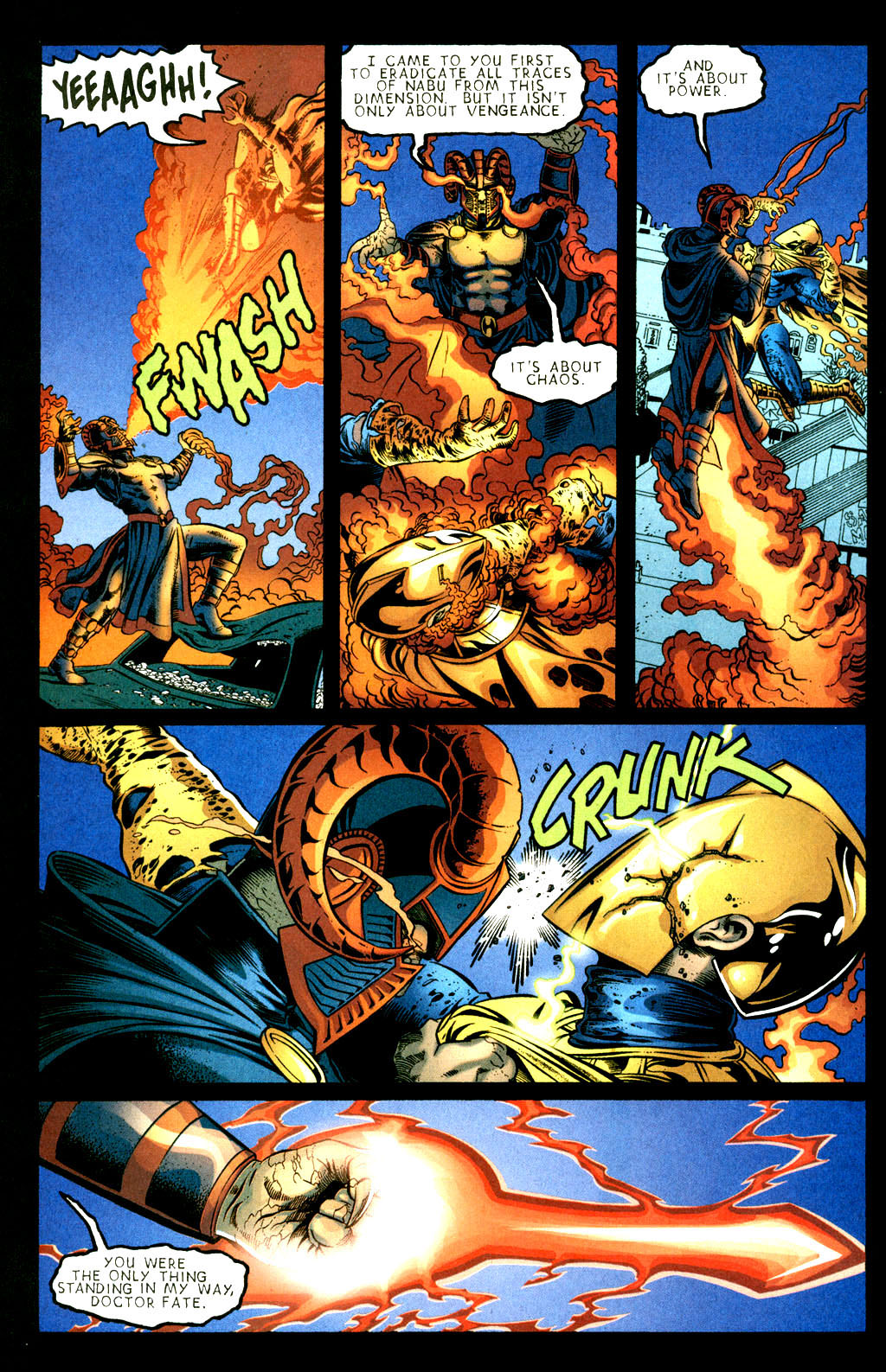 Read online Doctor Fate (2003) comic -  Issue #3 - 20