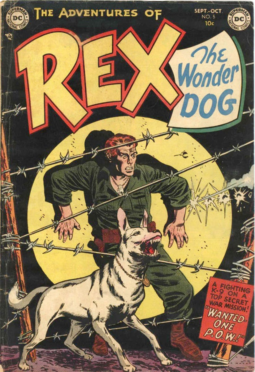 The Adventures of Rex the Wonder Dog issue 5 - Page 1