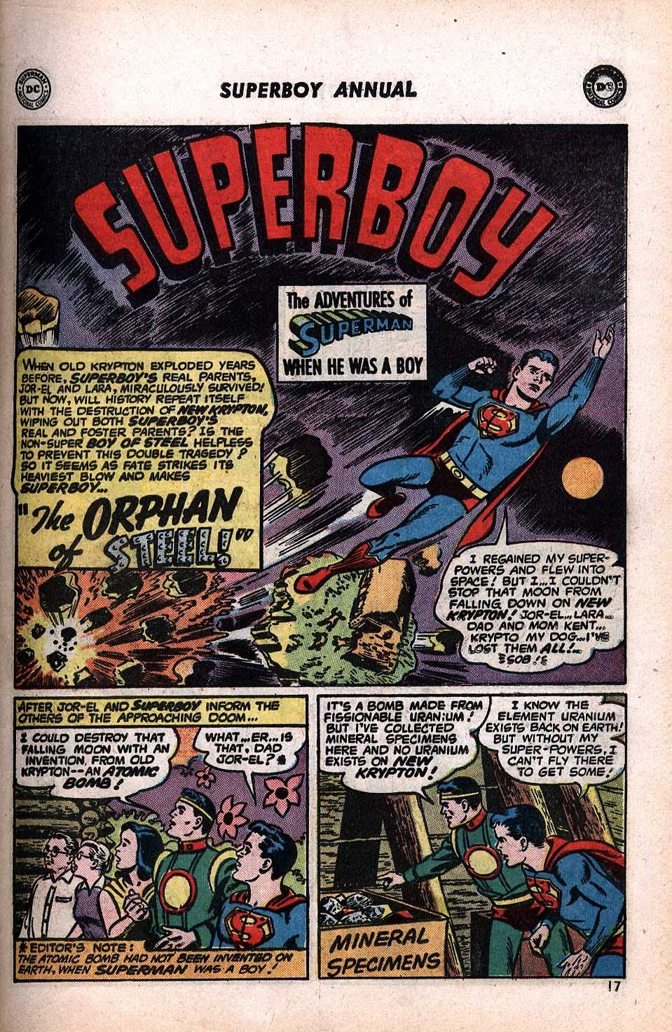 Superboy (1949) issue Annual 1 - Page 19
