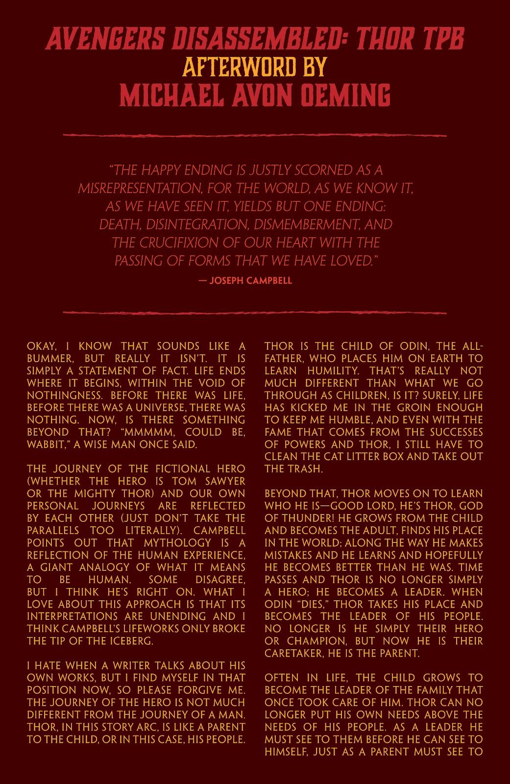 Read online Thor: Ragnaroks comic -  Issue # TPB (Part 4) - 88