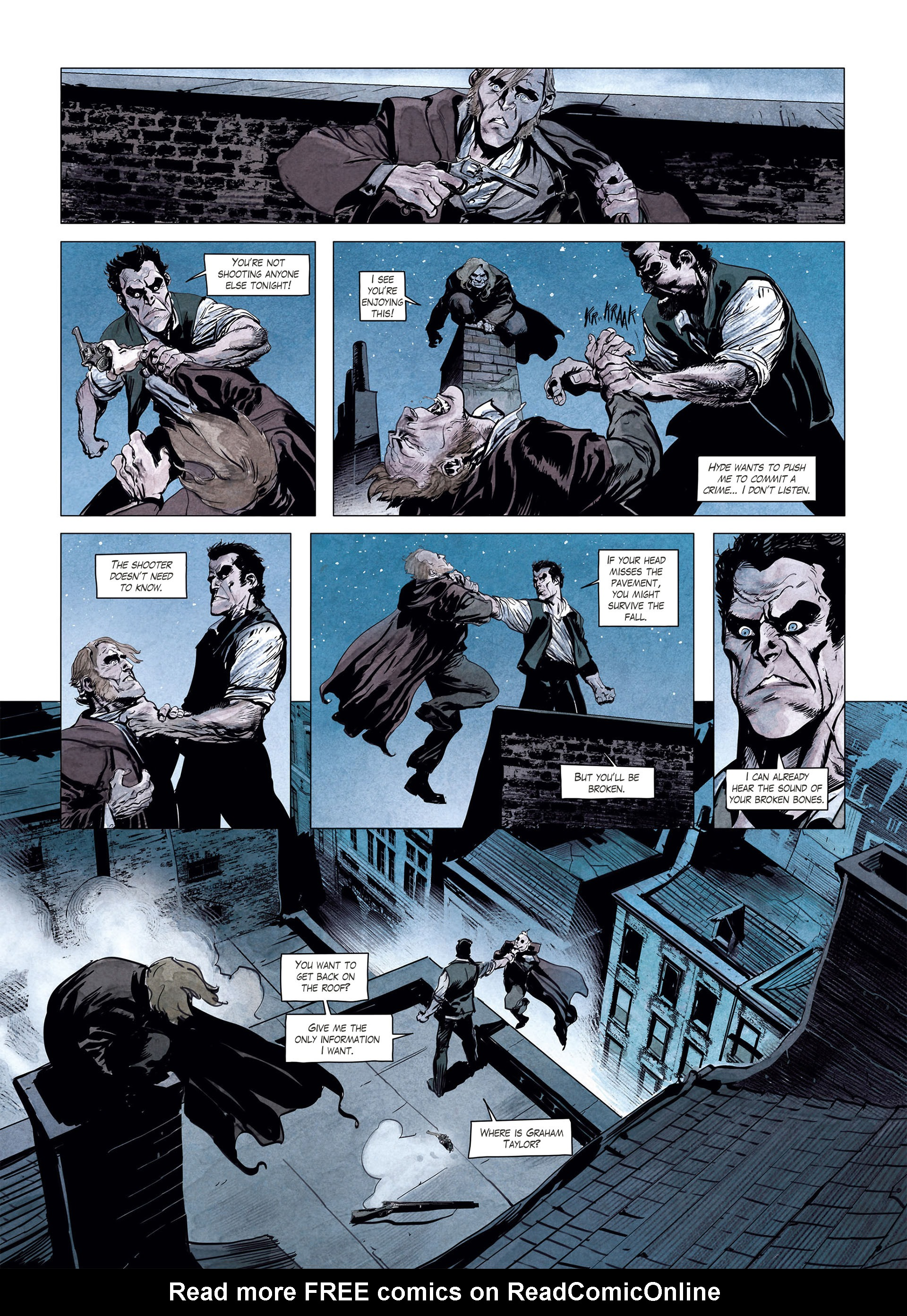 Read online Sherlock Holmes Society Tome 4 : Contamination comic -  Issue # Full - 37