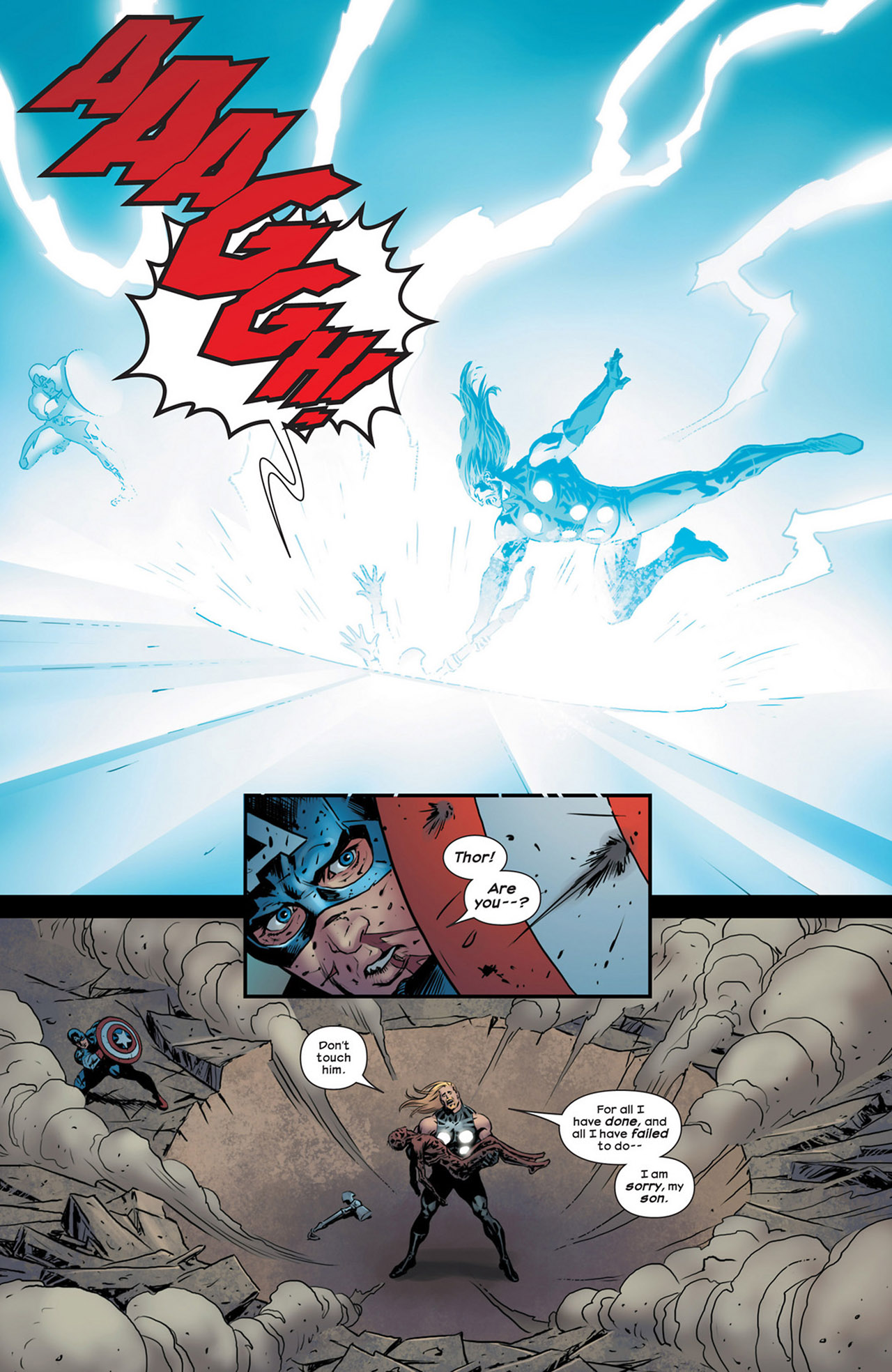 Read online Ultimate Comics Ultimates comic -  Issue #18 - 19