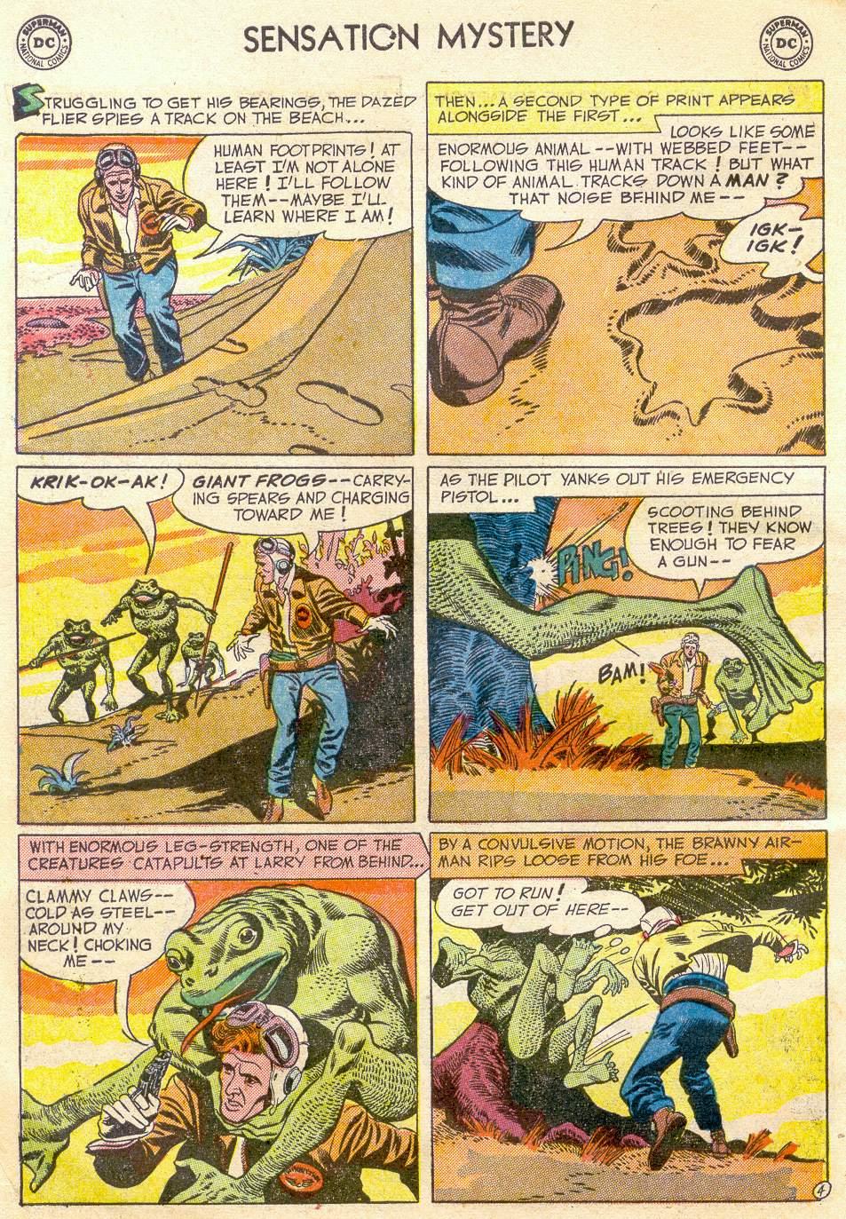 Read online Sensation (Mystery) Comics comic -  Issue #110 - 6