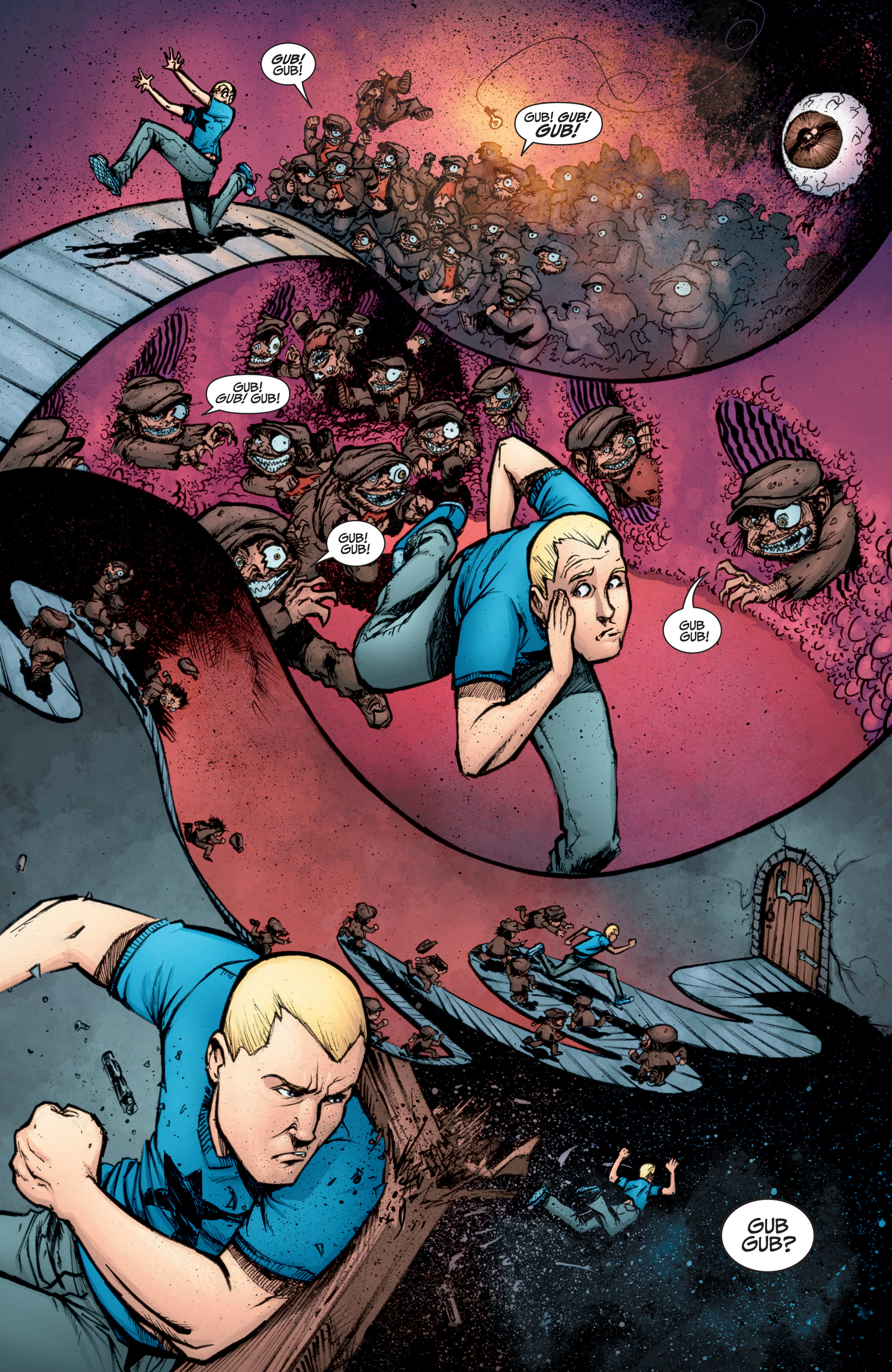 Read online A&A: The Adventures of Archer & Armstrong comic -  Issue #10 - 20